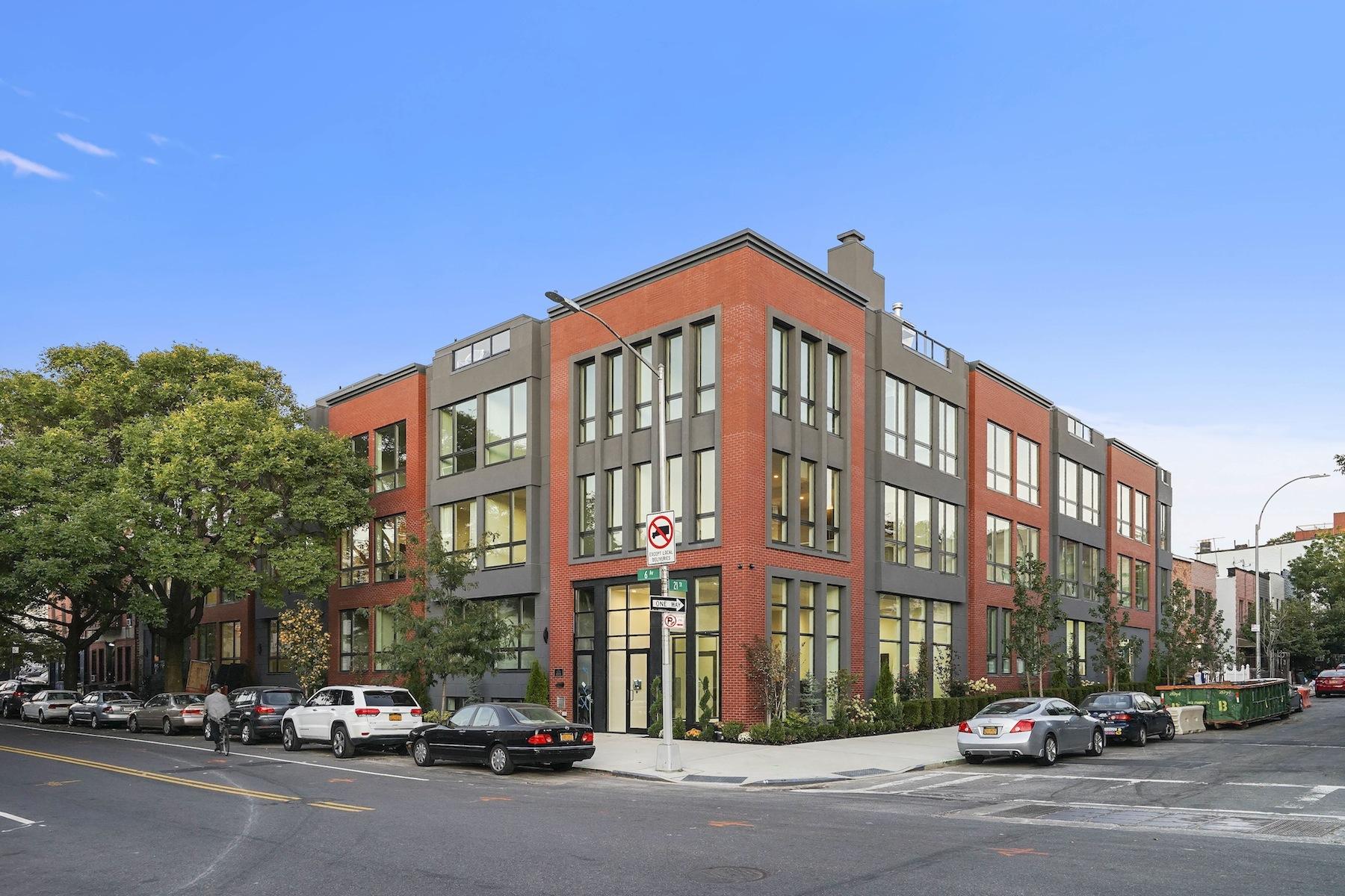 共管式独立产权公寓 为 销售 在 Stanton on Sixth 695 Sixth Avenue, 3J, 布鲁克林, 纽约州, 11215 美国