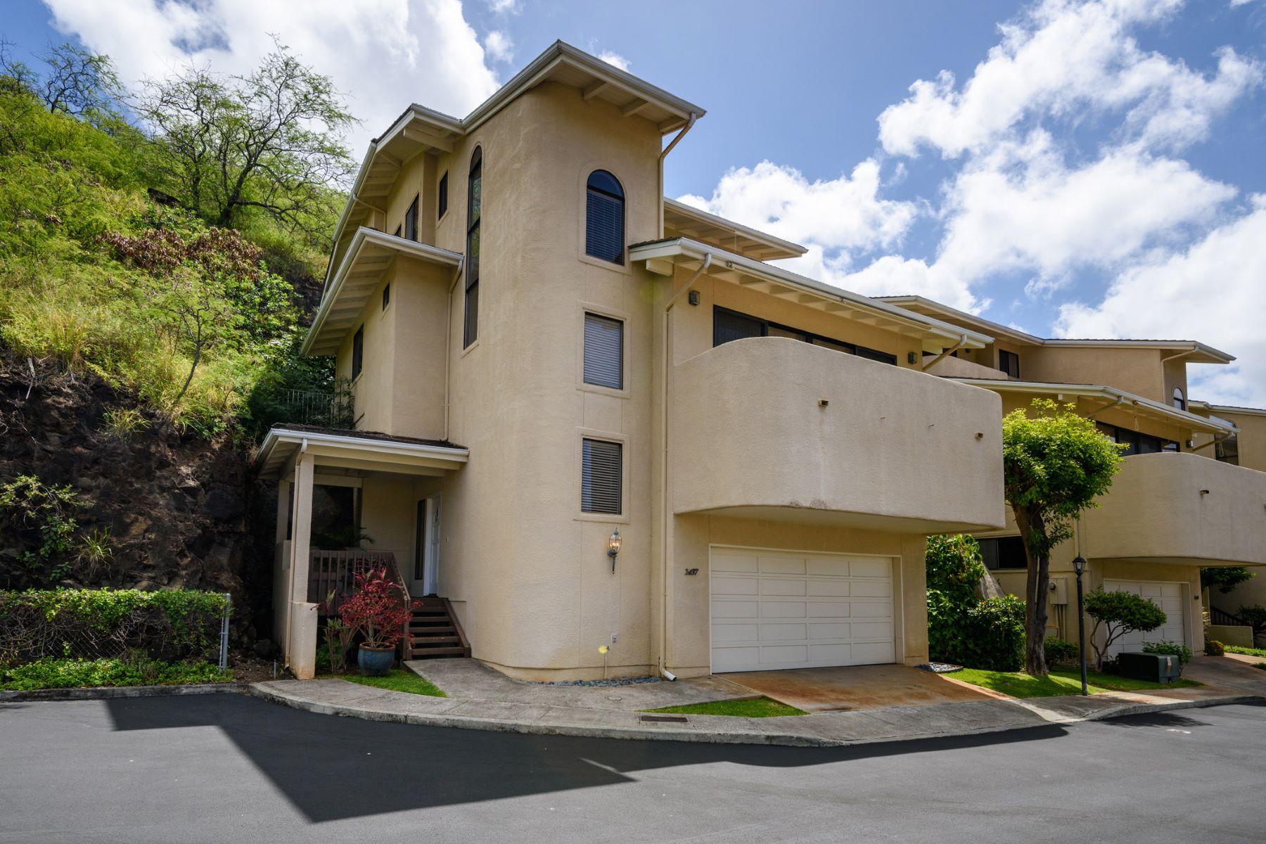 Maison unifamiliale pour l Vente à Exclusive Kalani Iki Hideaway 1437 Hoakoa Place #10 Kalani Iki, Honolulu, Hawaii, 96821 États-Unis