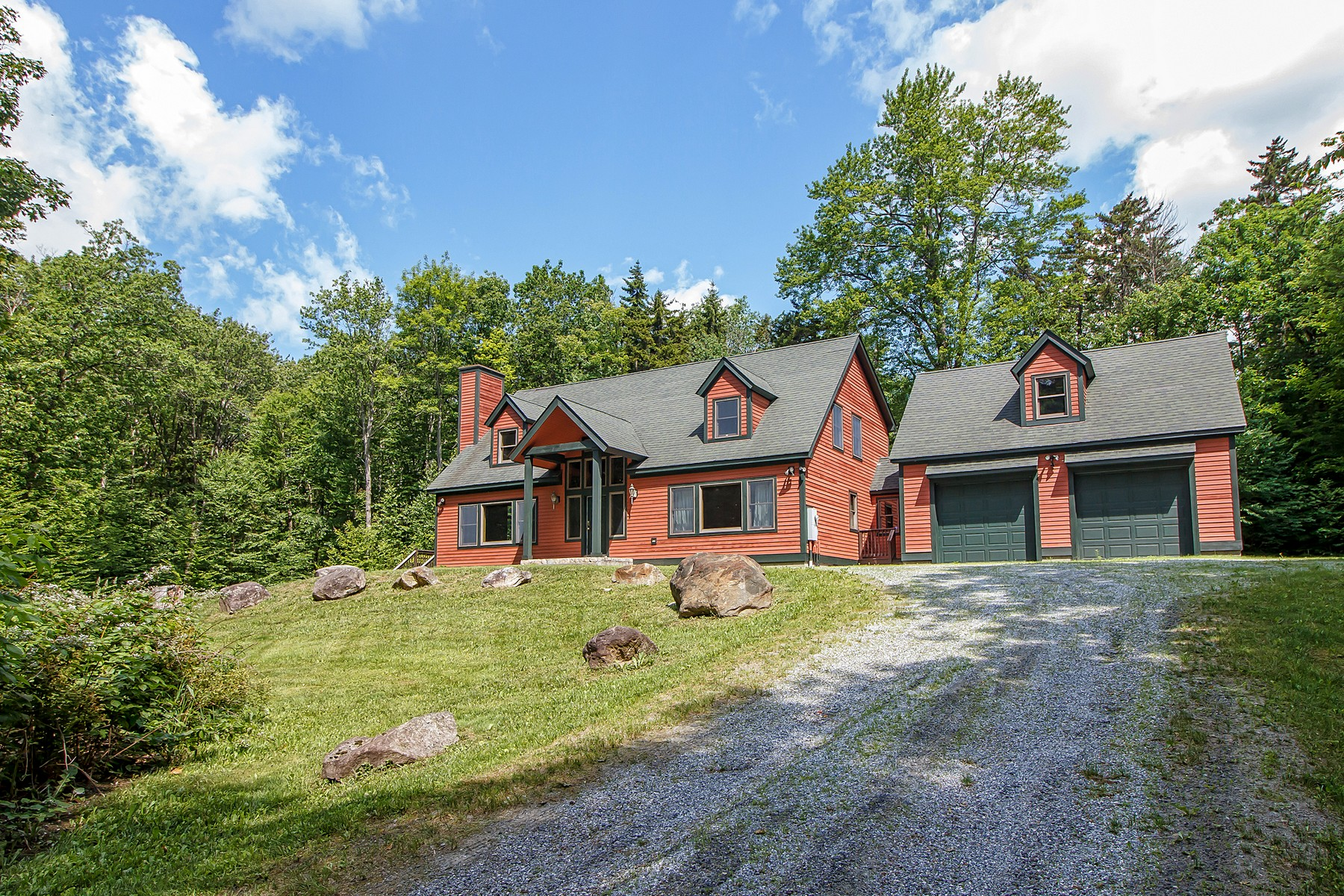 Single Family Homes for Sale at Spacious Ski Home Near Stratton 83 Benson Fuller Drive Winhall, Vermont 05340 United States