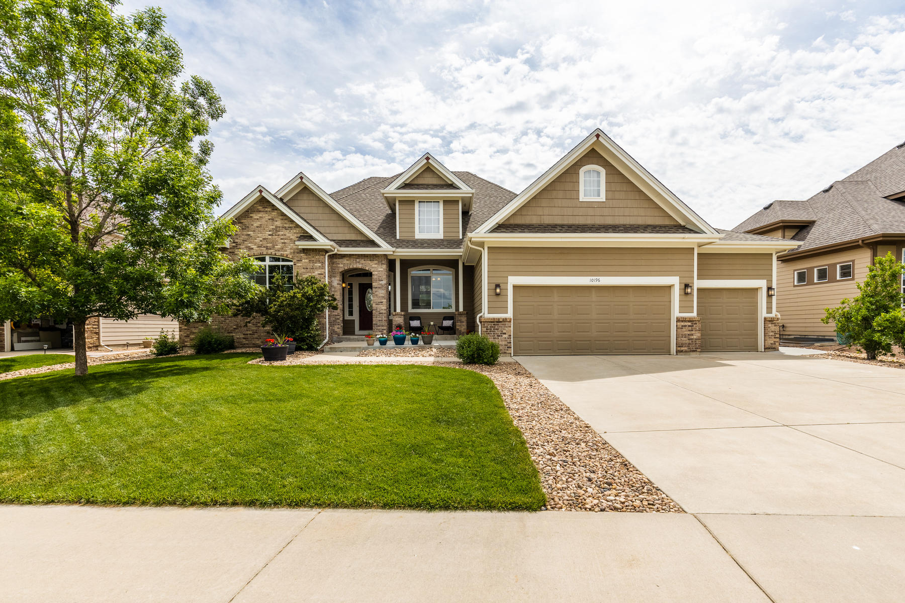 Single Family Homes for Sale at Absolutely Beautiful Modern Remodel 10196 Deerfield St Firestone, Colorado 80504 United States