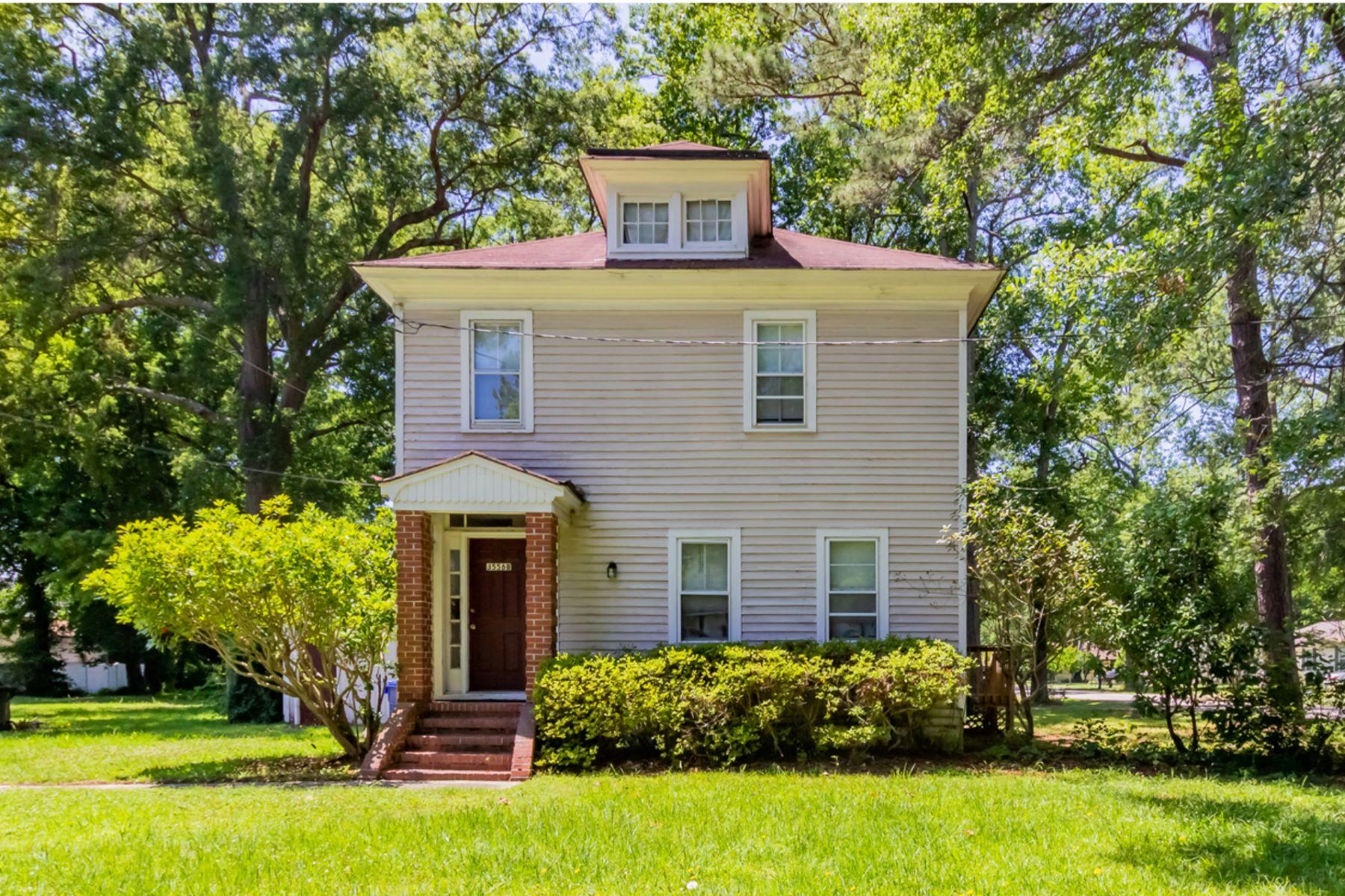 Duplex Homes pour l Vente à CHURCHLAND 3556 Tyre Neck Road Portsmouth, Virginia 23703 États-Unis