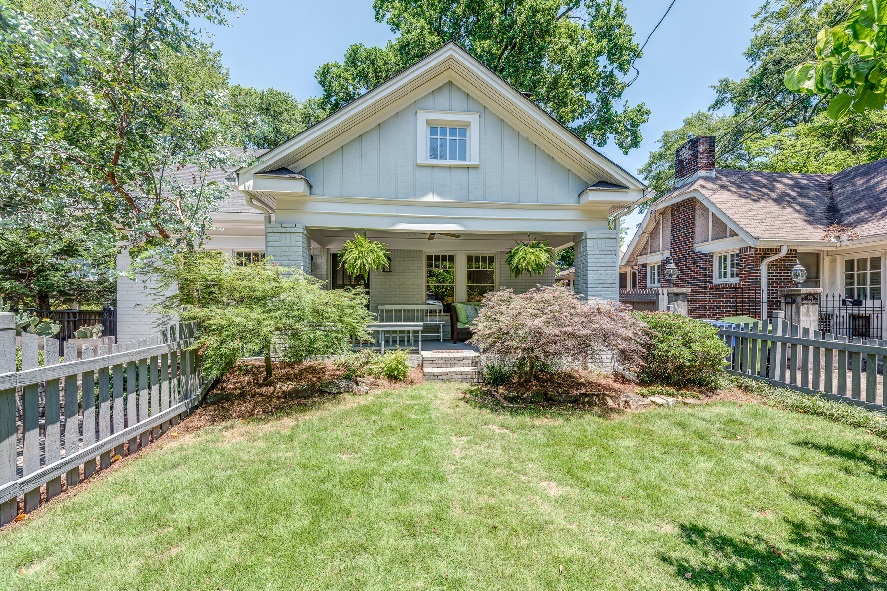 Single Family Home for Sale at A Completely Renovated And Expanded Main House Plus Detached Airbnb 856 Greenwood Avenue NE Atlanta, Georgia 30306 United States