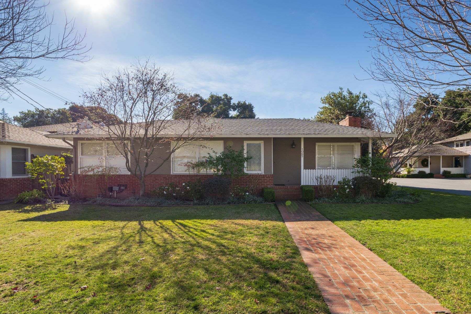 Multi-Family Home for Active at Rare duplex on an ideal tree-lined street in Menlo Park 1065-1067 Marcussen Drive Menlo Park, California 94025 United States