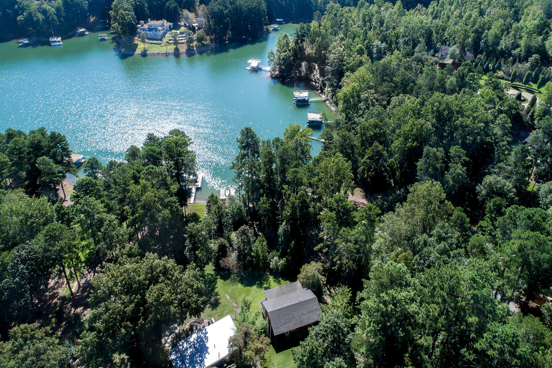 Single Family Homes for Sale at Prime Lake Lanier Location! Renovate Or Build New! 6579 Garrett Road Buford, Georgia 30518 United States