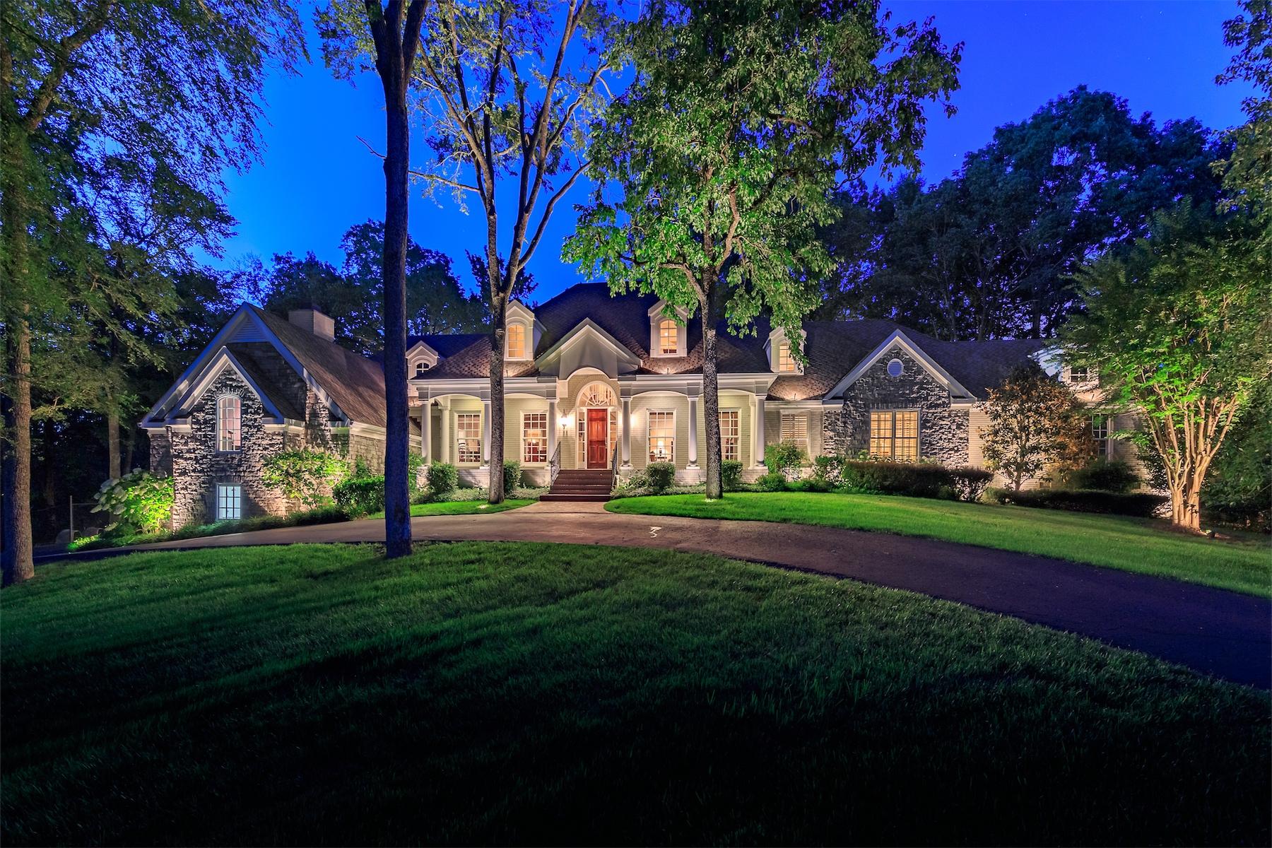 Terreno por un Venta en Private Gated Estate on 41 Acres in Franklin 4508 Murfreesboro Road Franklin, Tennessee, 37067 South, Estados Unidos