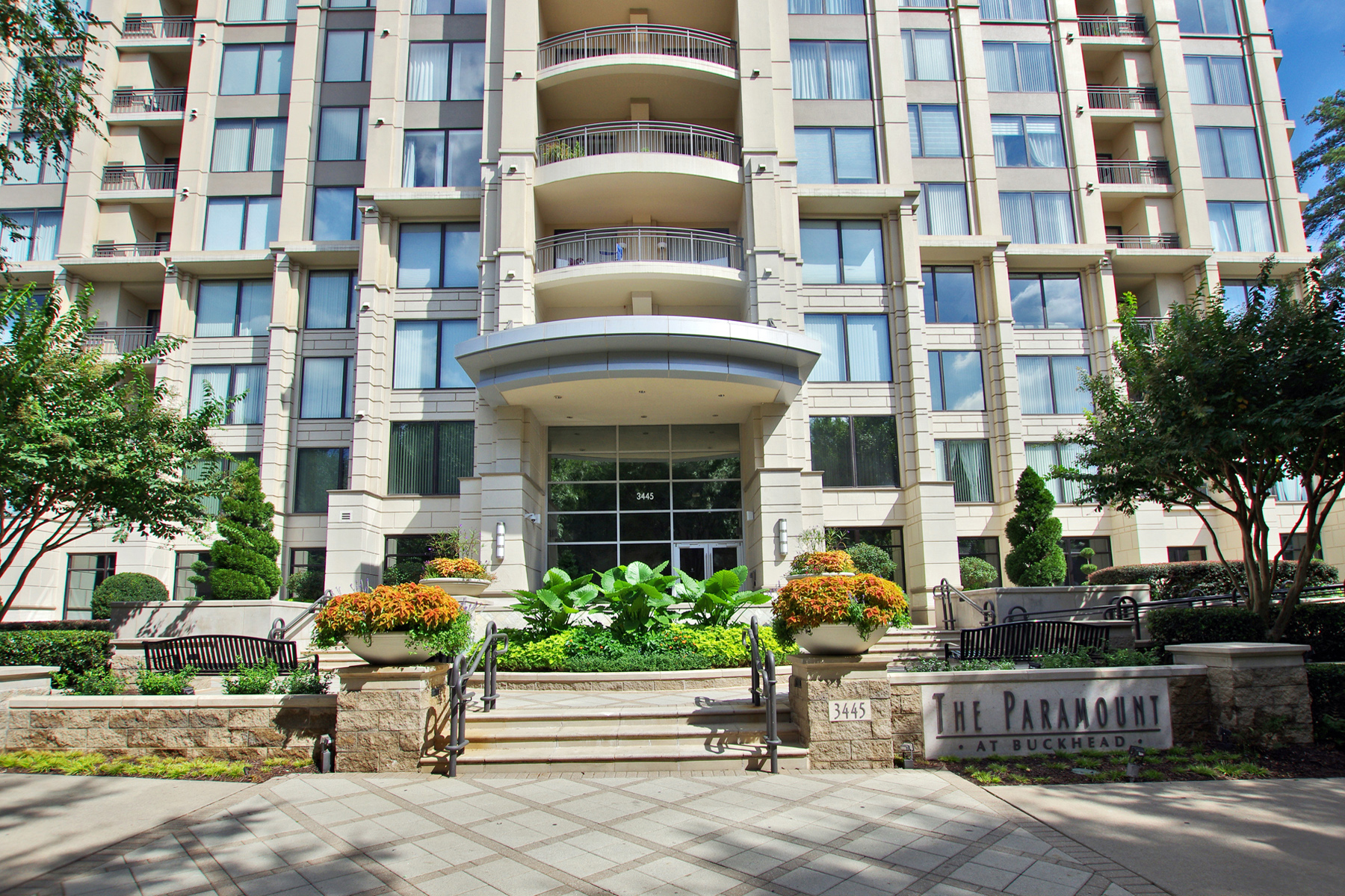 Condominium for Sale at Spectacular Light Filled Corner Unit With Breathtaking Views Of Buckhead 3445 Stratford Road NE No. 1003 Atlanta, Georgia 30326 United States