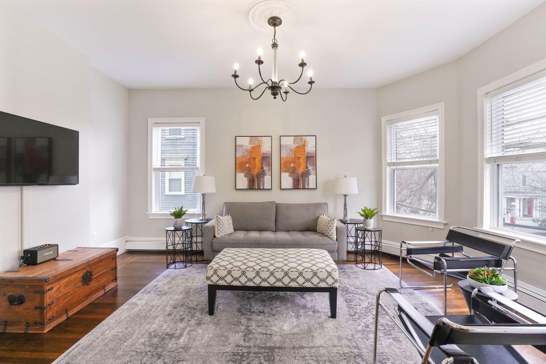 Condominiums 为 销售 在 60 Aspinwall Ave - Unit 2 60 Aspinwall Ave 2 布鲁克莱恩, 马萨诸塞州 02446 美国