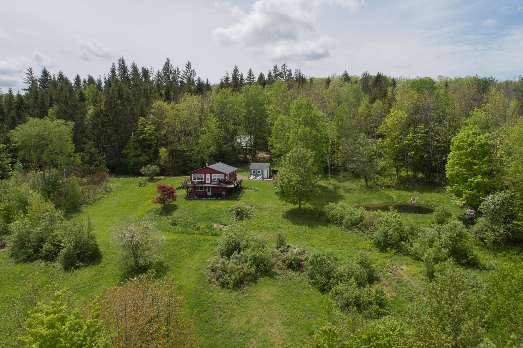single family homes for Sale at Two Bedroom Ranch on 33 Acres in Braintree 369 Sault Rd Braintree, Vermont 05060 United States