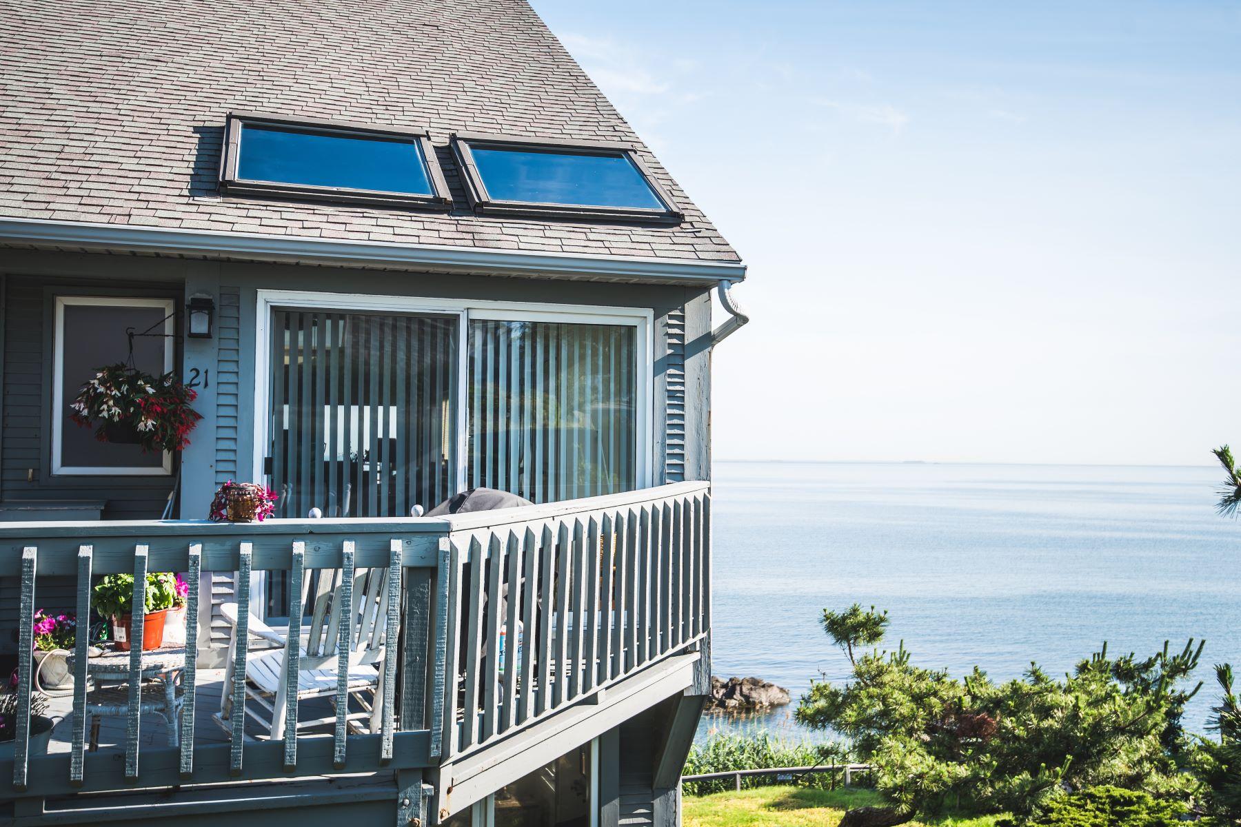 Condominiums 为 销售 在 21 Oceanside Drive, Unit 21 赫尔, 马萨诸塞州 02045 美国