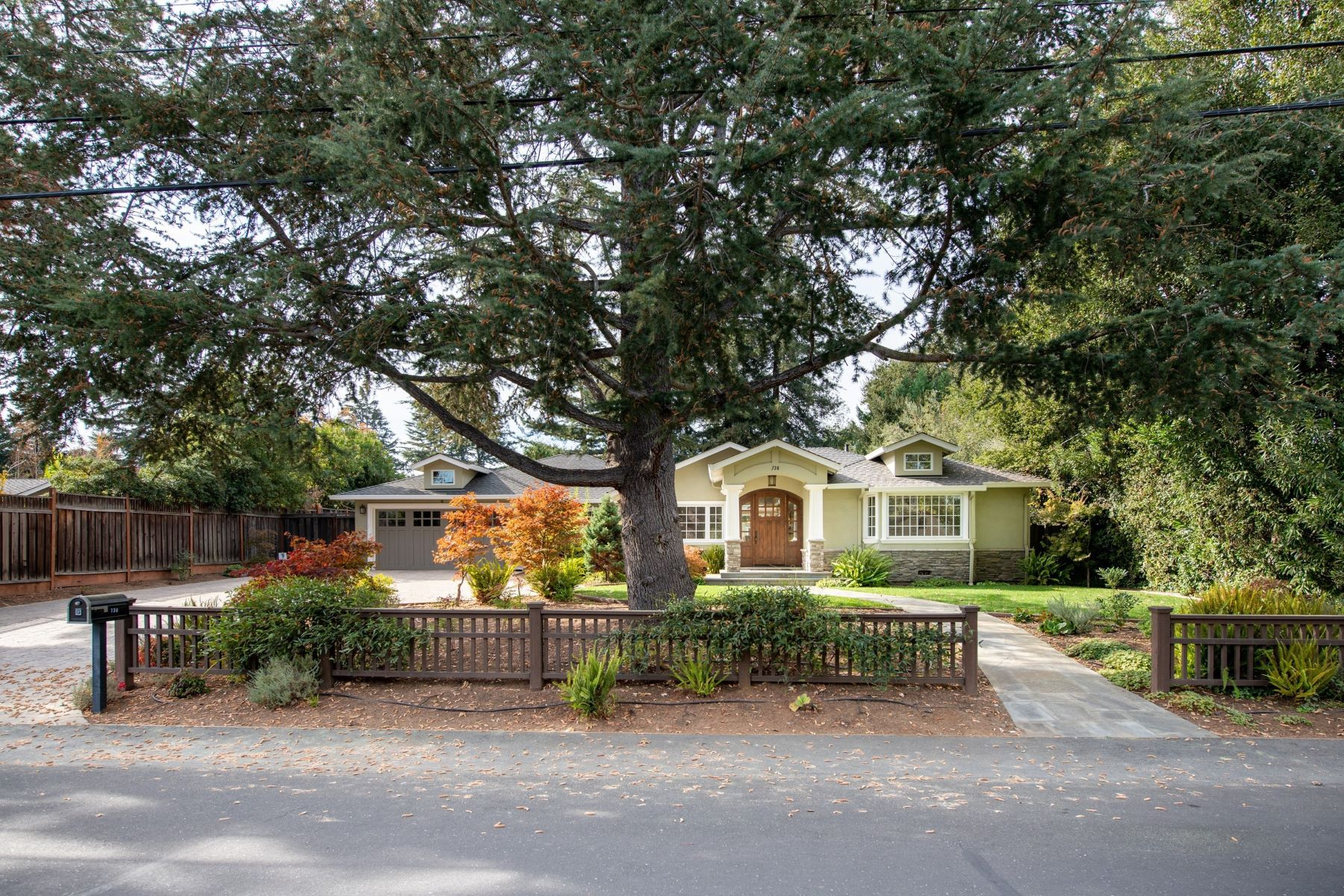 Single Family Homes for Sale at DESIGNER RENOVATION ON OVER 16K LOT 736 Campbell Avenue Los Altos, California 94024 United States