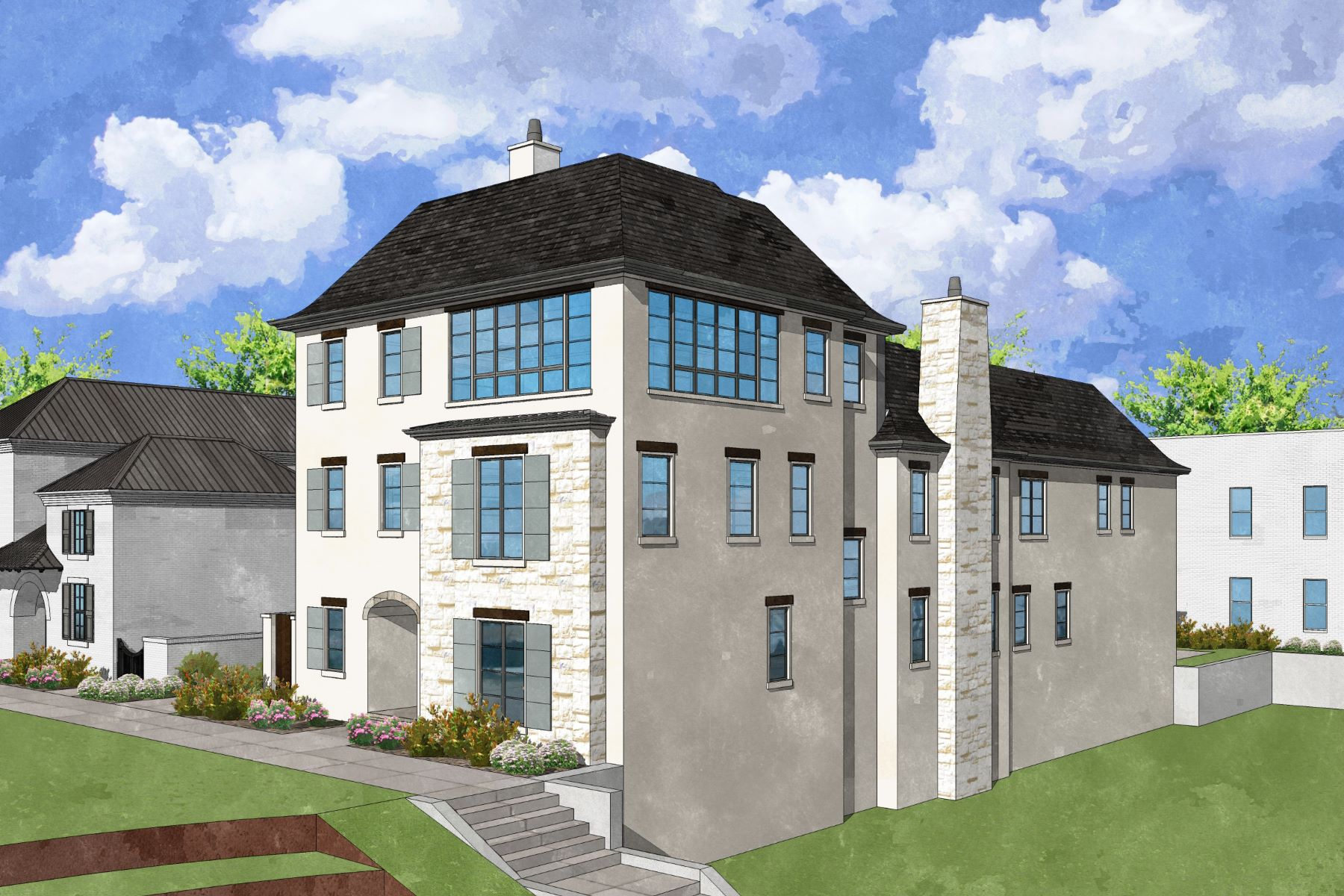 Additional photo for property listing at New Construction Townhome 217 N Esplanade Alpharetta, Джорджия 30009 Соединенные Штаты