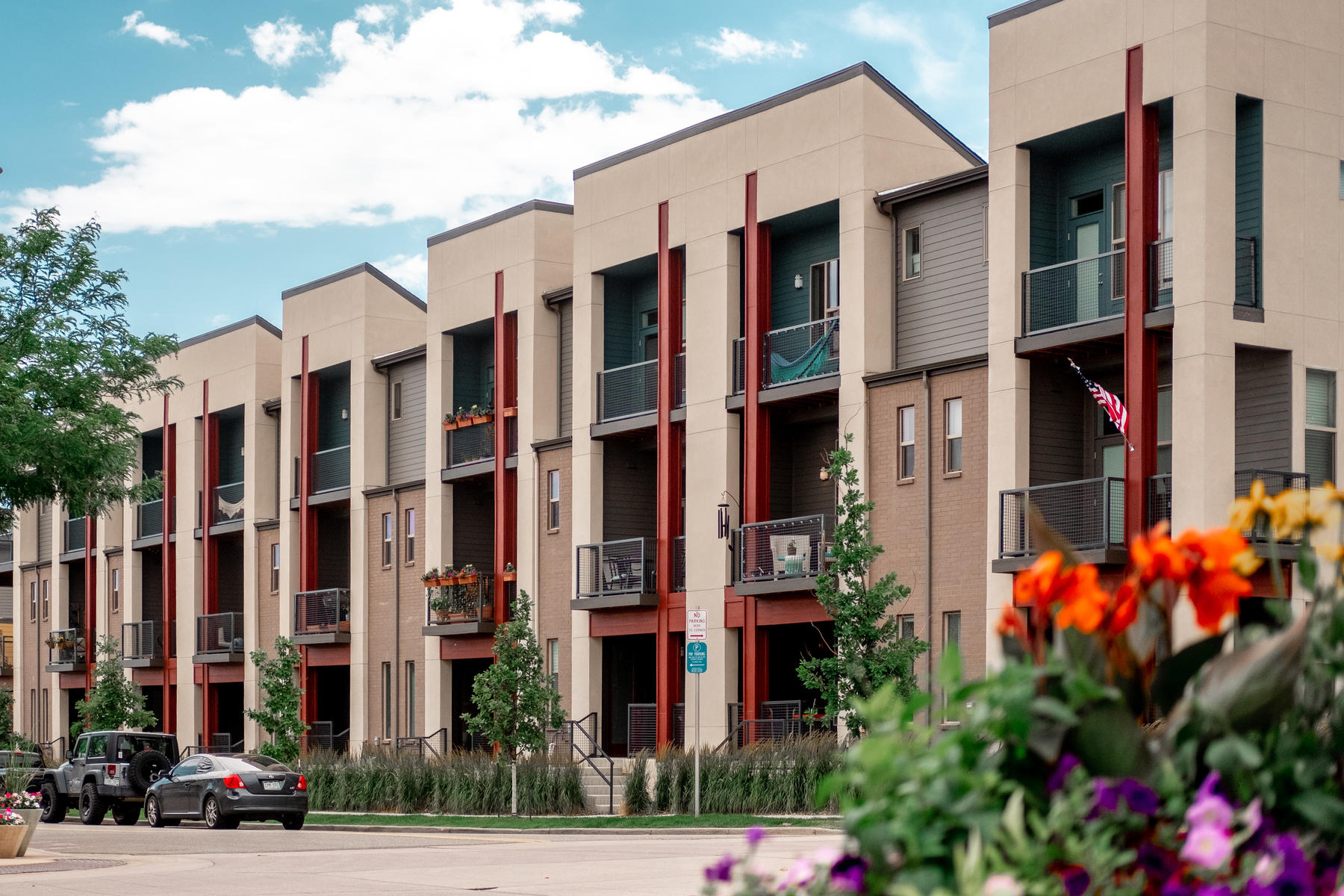 townhouses for Sale at Open & Light Townhome in Belmar 7080 W Alaska Drive Lakewood, Colorado 80226 United States