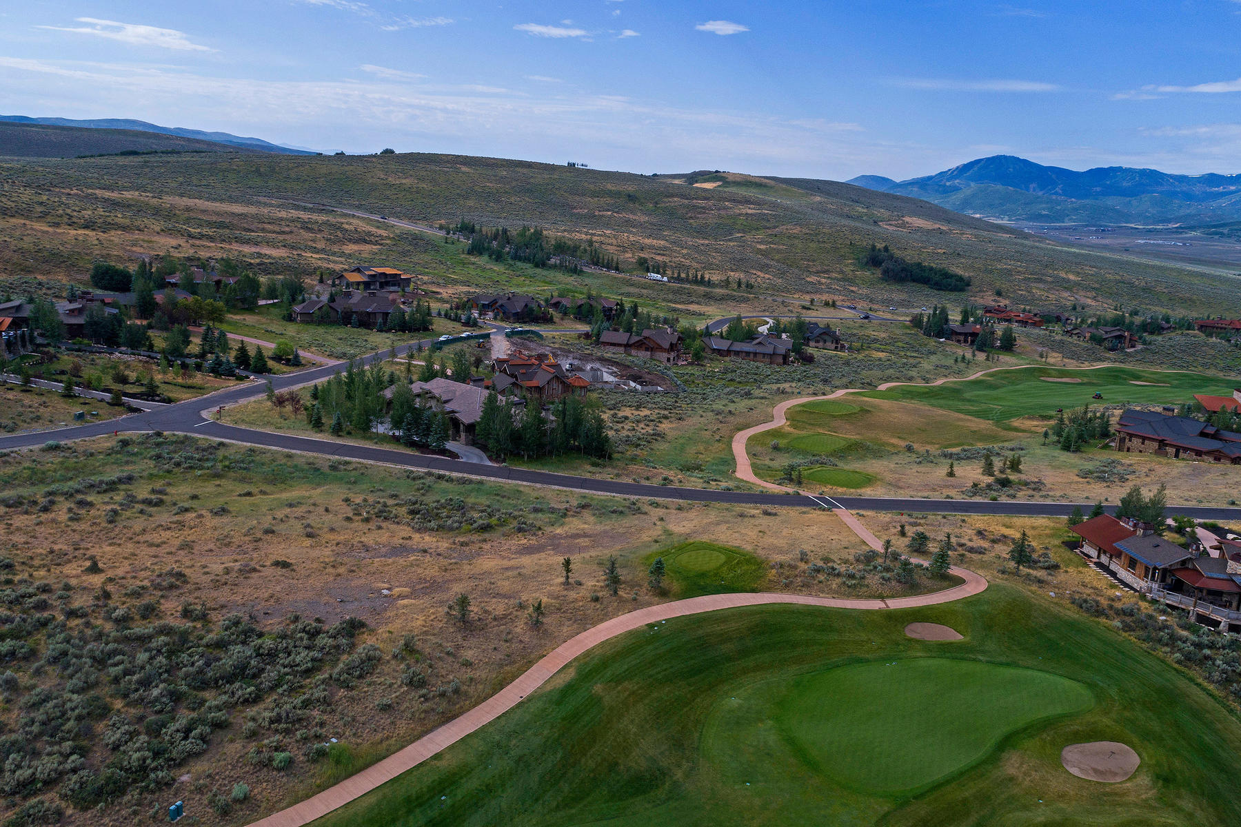 Land for Sale at Golf Course and Wasatch Mountain View Lot 3457 E Westview Trl Park City, Utah, 84098 United States