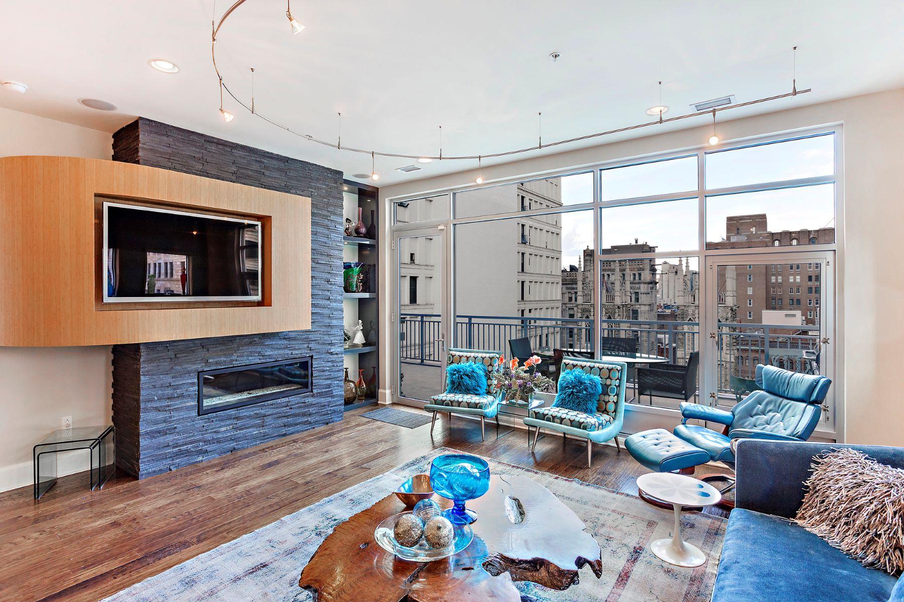 Condominiums للـ Sale في 301 5th Avenue #714 301 5th #714, Pittsburgh, Pennsylvania 15222 United States