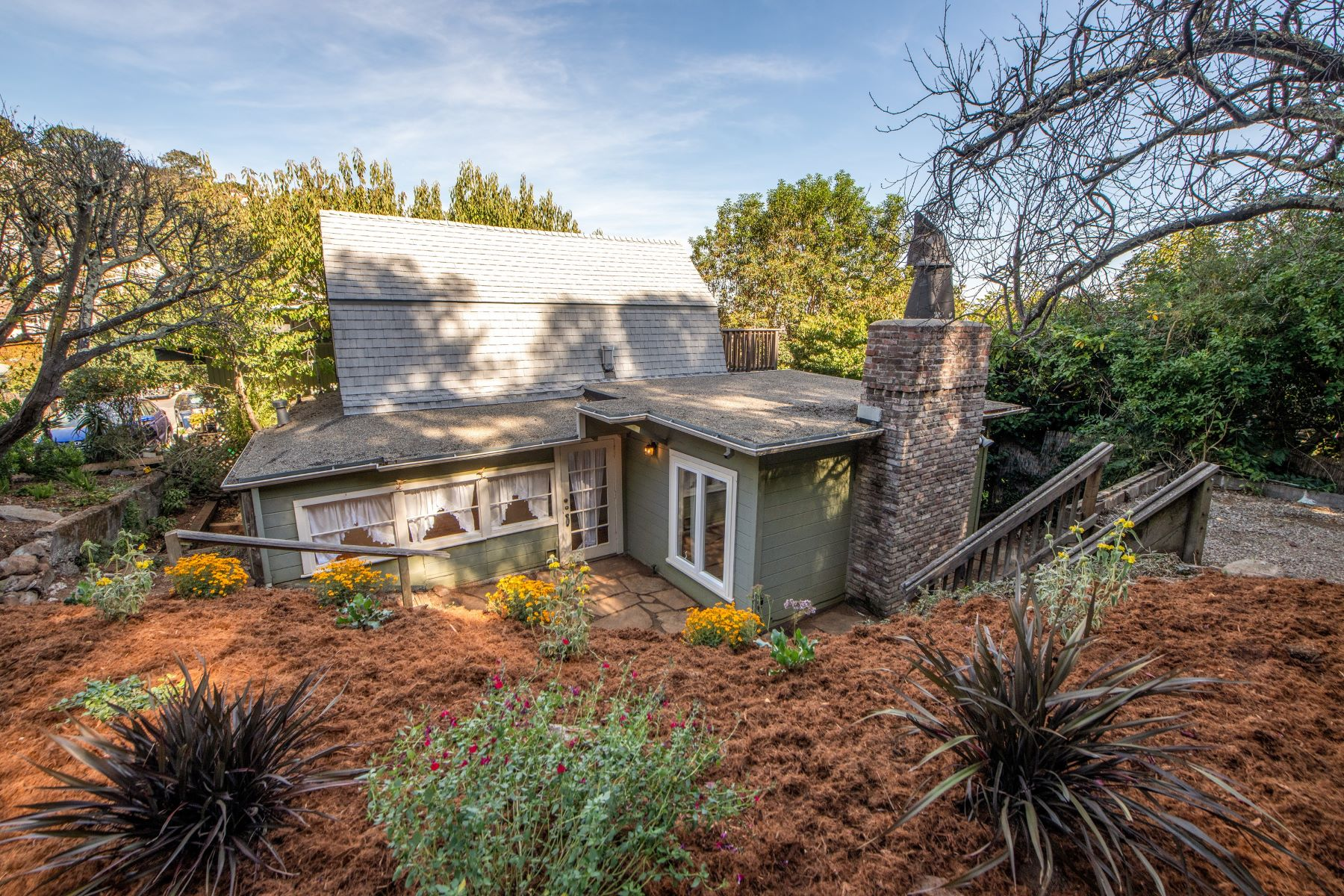 Single Family Homes for Sale at Charming Sausalito Cottage 106 West Street Sausalito, California 94965 United States