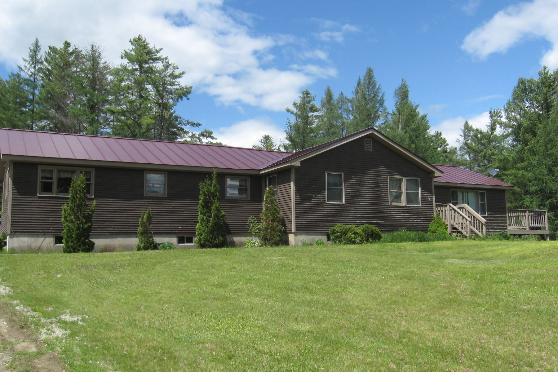 single family homes for Sale at Three Bedroom Ranch in Groton 44 Cross Rd Groton, Vermont 05046 United States