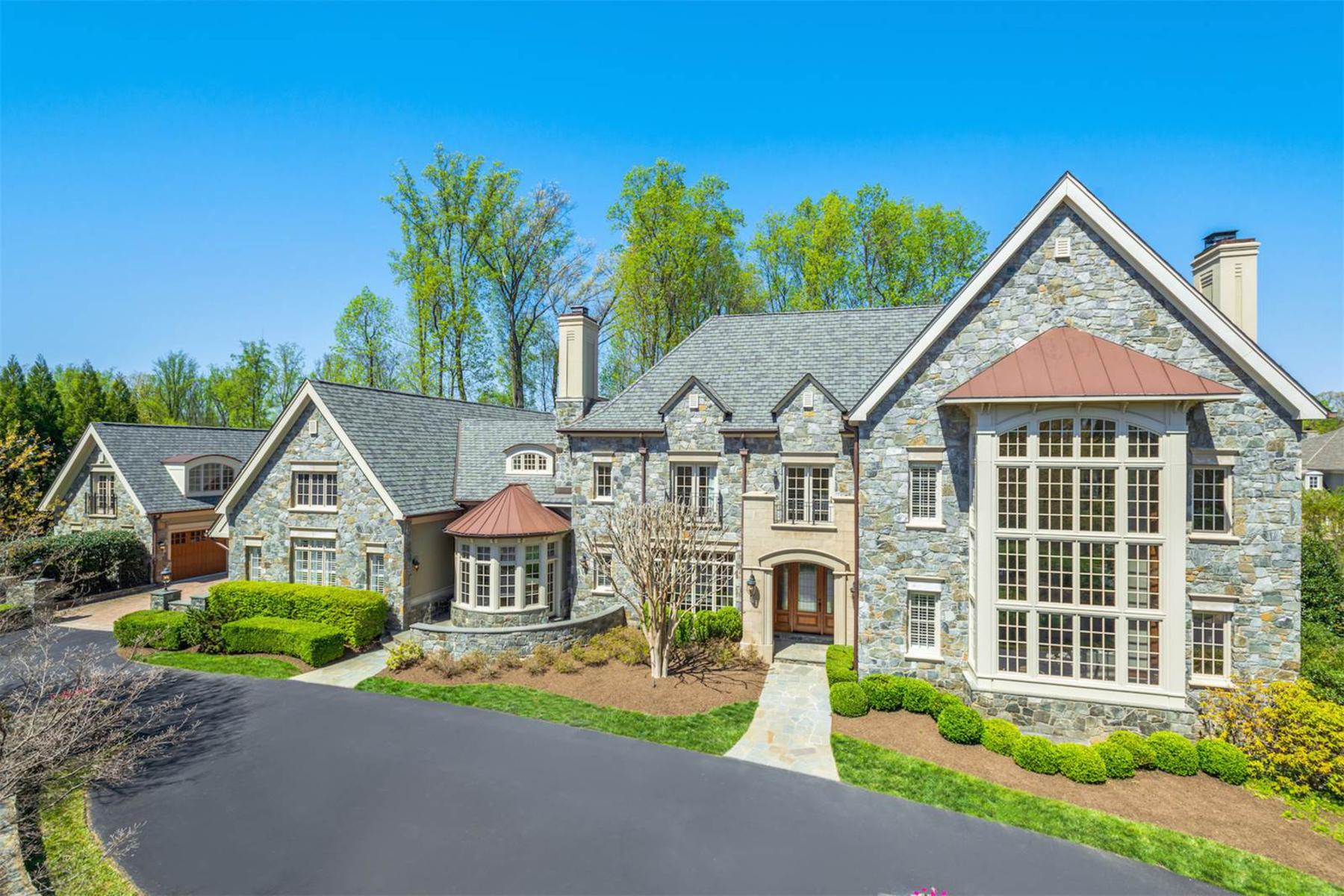 独户住宅 为 销售 在 Masterpiece in The Reserve 1017 Founders Ridge Ln 麦克林, 弗吉尼亚州, 22102 美国