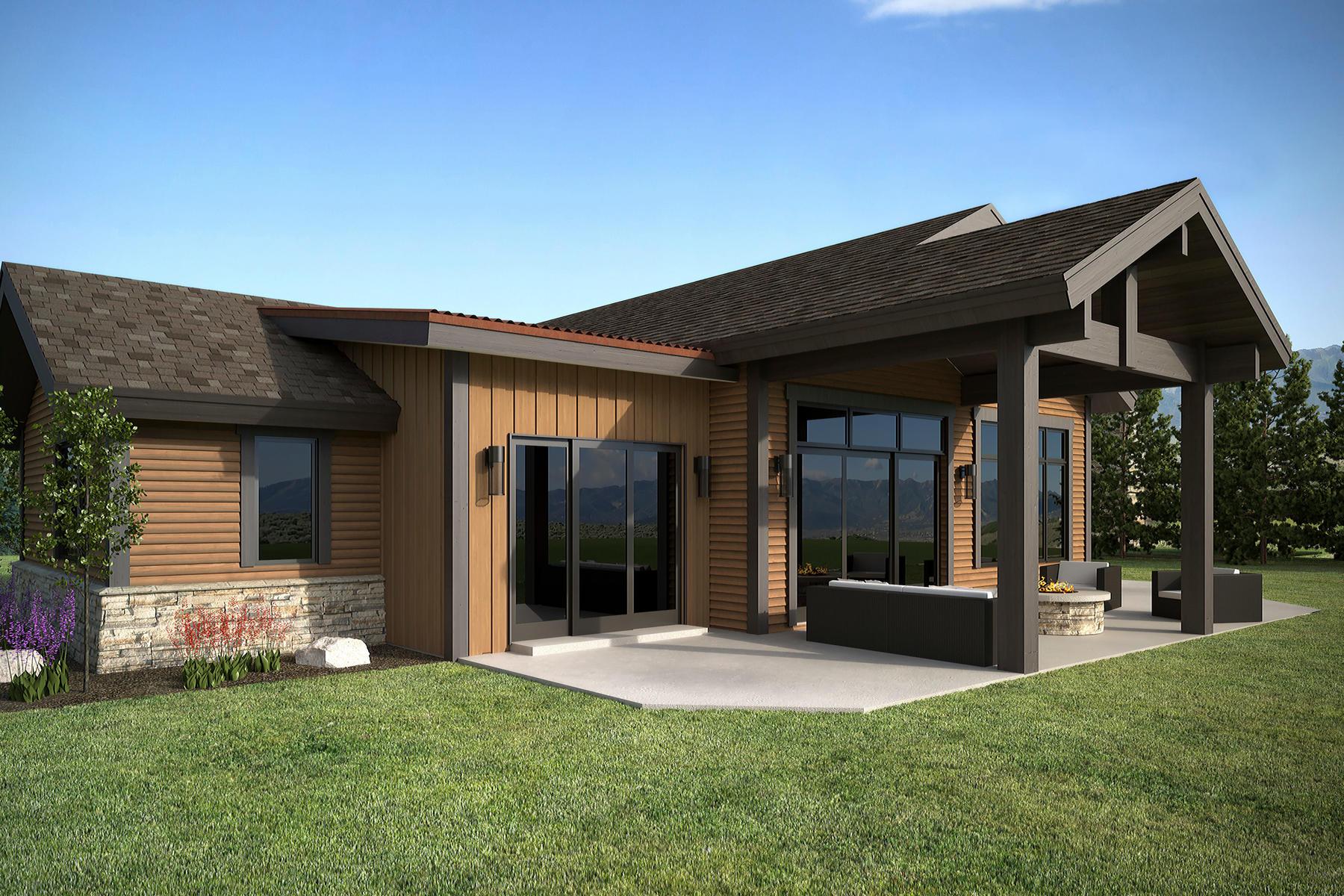 独户住宅 为 销售 在 The Gateway Rambler at High Star Ranch with Spectacular Views 657 Thorn Creek Drive Lot 47, Kamas, 犹他州, 84036 美国