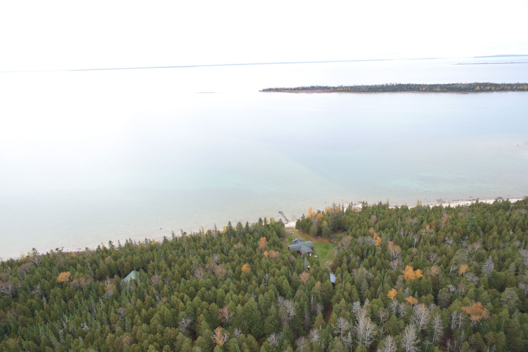 Land for Sale at Acreage on Marquette Island 5132 S. Halfway Lane & 608 W. Kromiller Road Cedarville, Michigan 49719 United States
