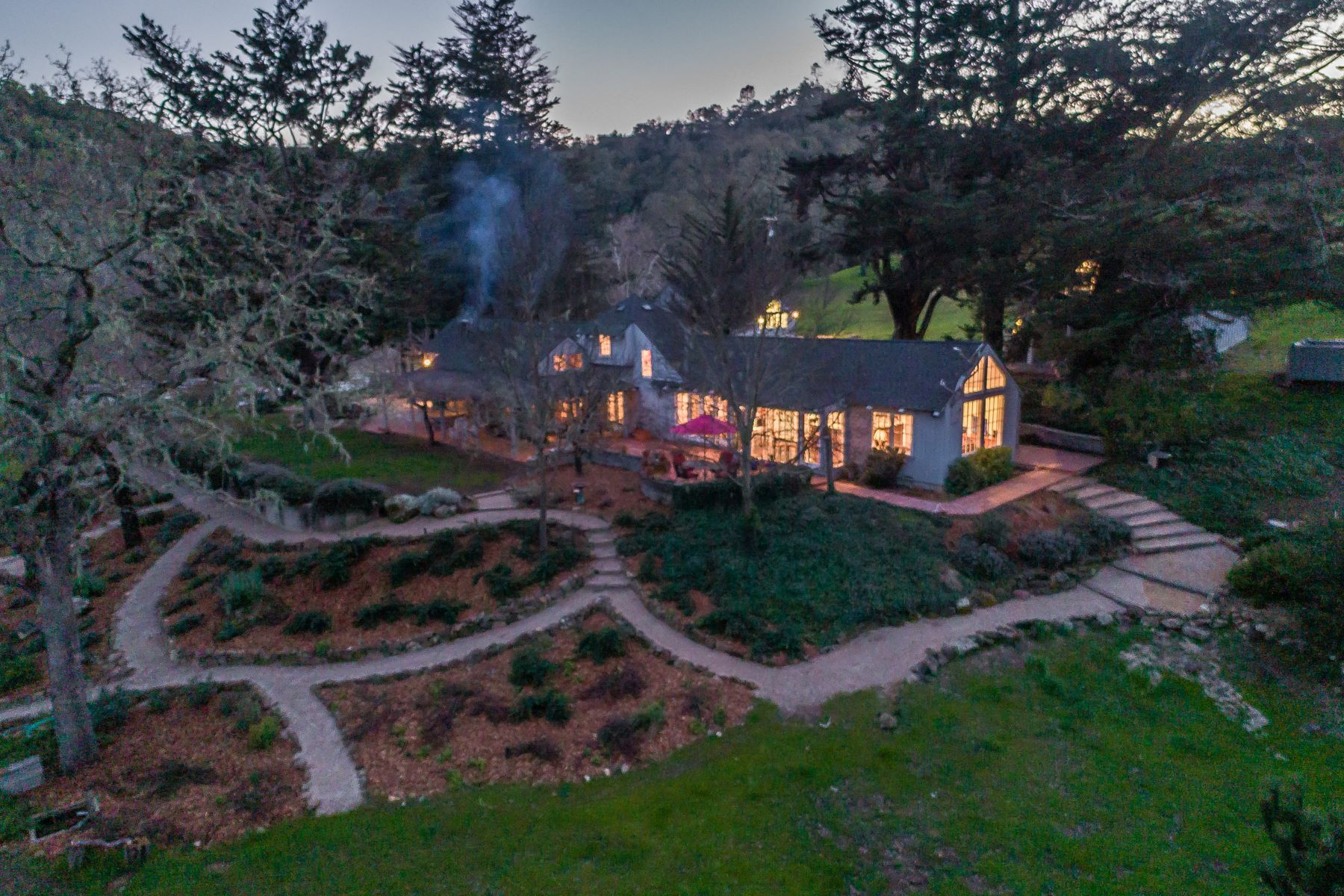 Single Family Homes for Sale at Experience the Extraordinary Tranquility 11610 Santa Rosa Creek Road Templeton, California 93465 United States
