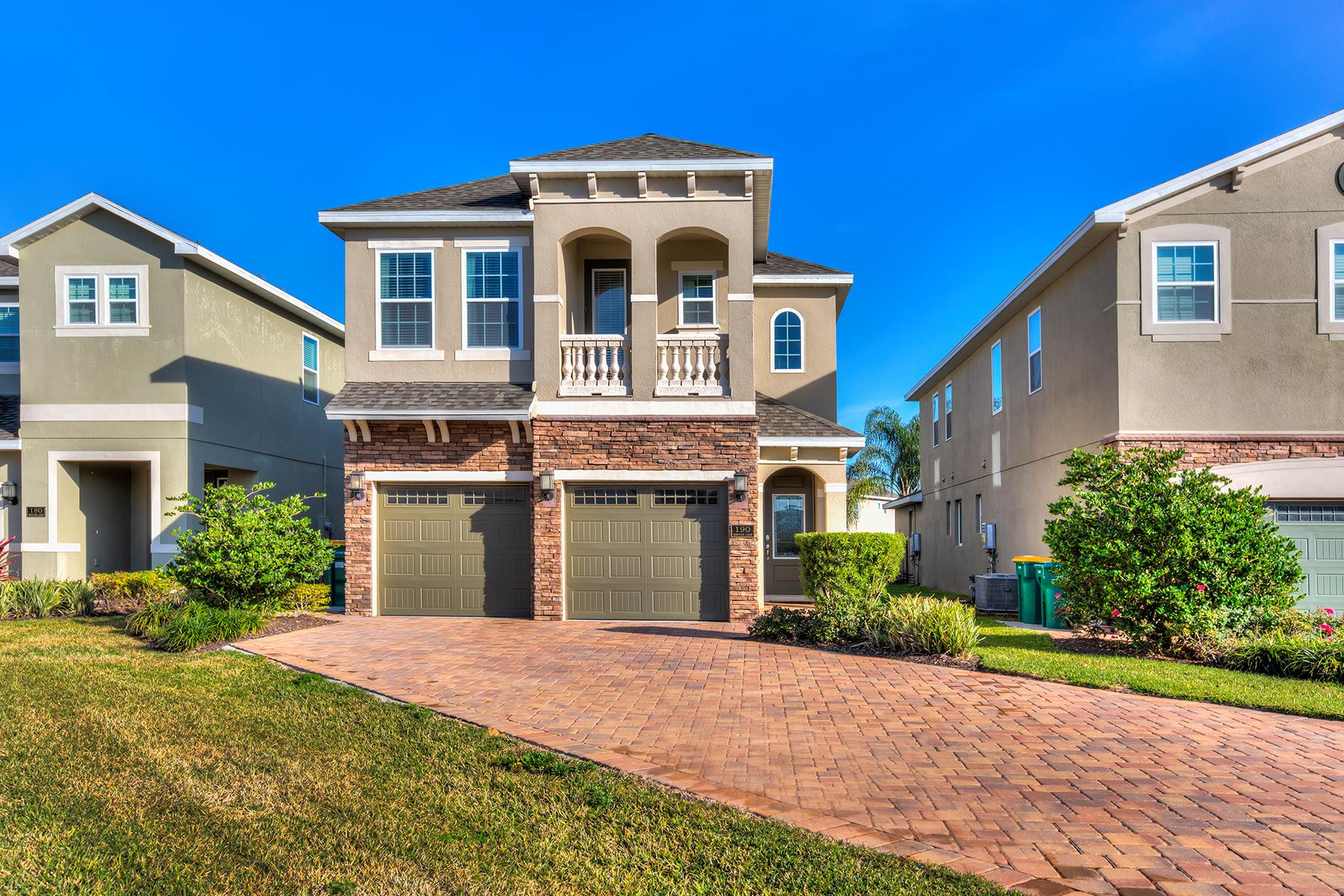 Single Family Homes für Verkauf beim ORLANDO 190 Minton Loop, Kissimmee, Florida 34747 Vereinigte Staaten