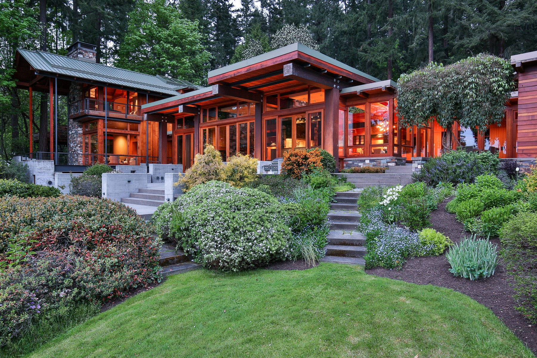獨棟家庭住宅 為 出售 在 Picturesque waterfront estate 8888 Res5/3 Undisclosed Bainbridge Island, 華盛頓州 98110 美國