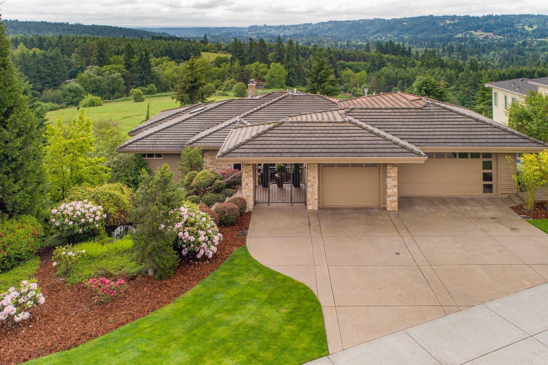 Single Family Homes pour l Vente à Lake Oswego, Oregon 97034 États-Unis