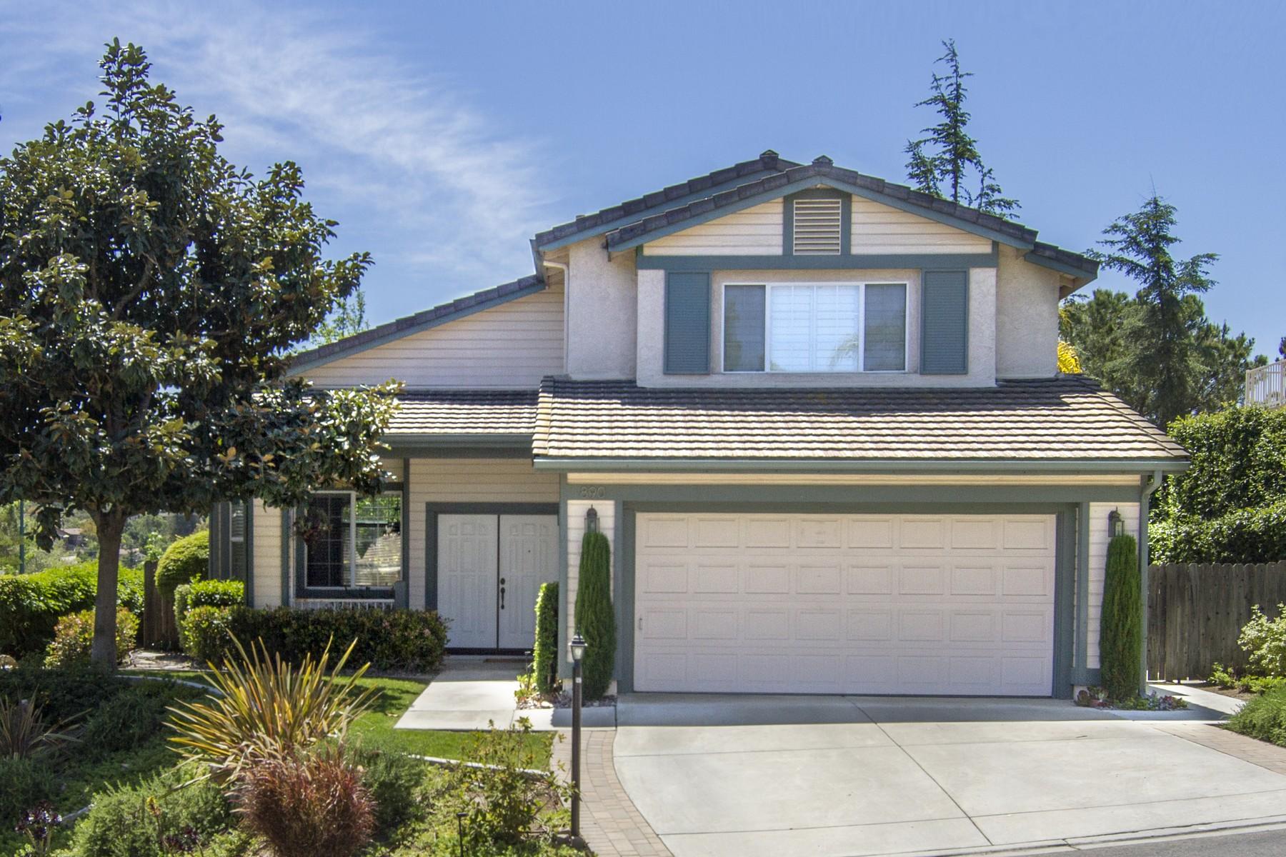 Casa para uma família para Venda às 890 Day Lily Court San Marcos, Califórnia, 92078 Estados Unidos