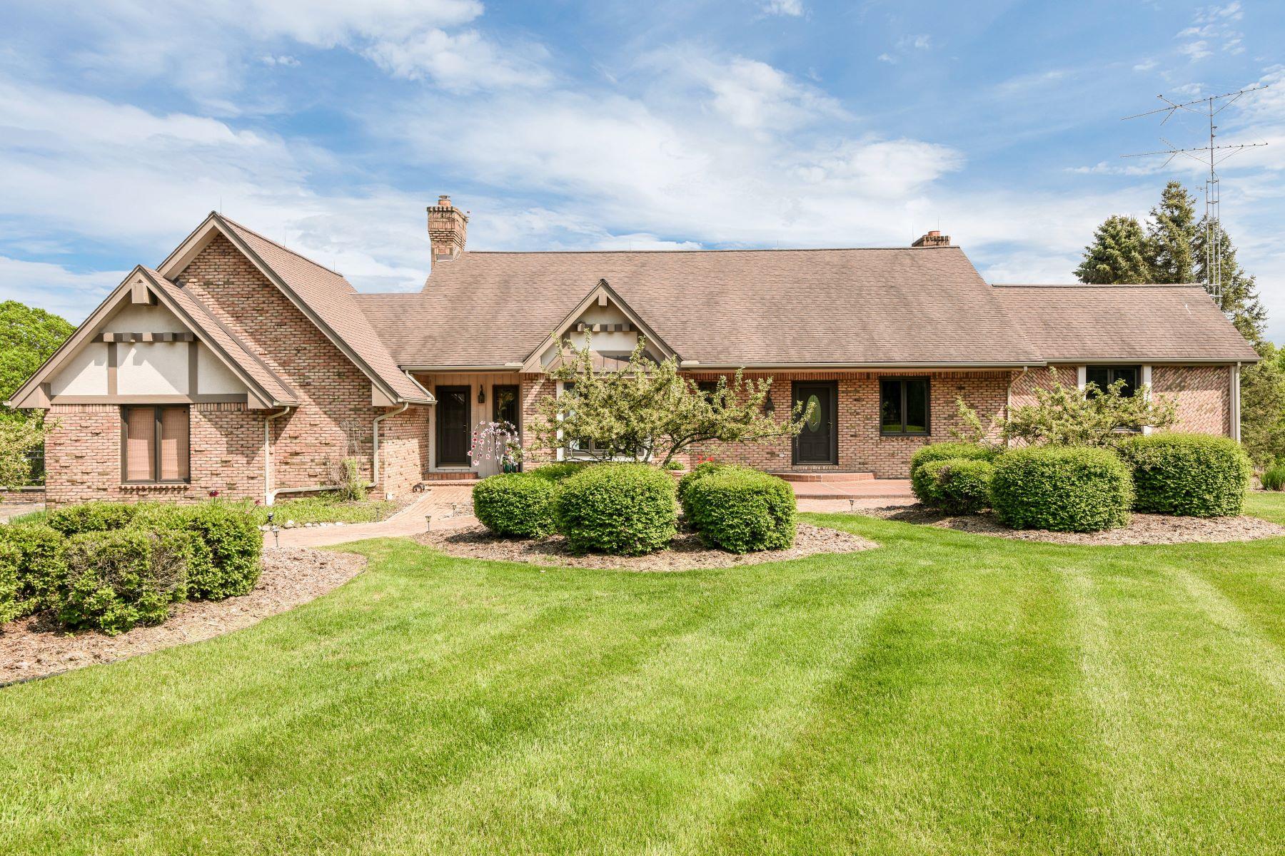 Single Family Homes for Sale at Metamora Township 2690 Brocker Road Metamora, Michigan 48455 United States