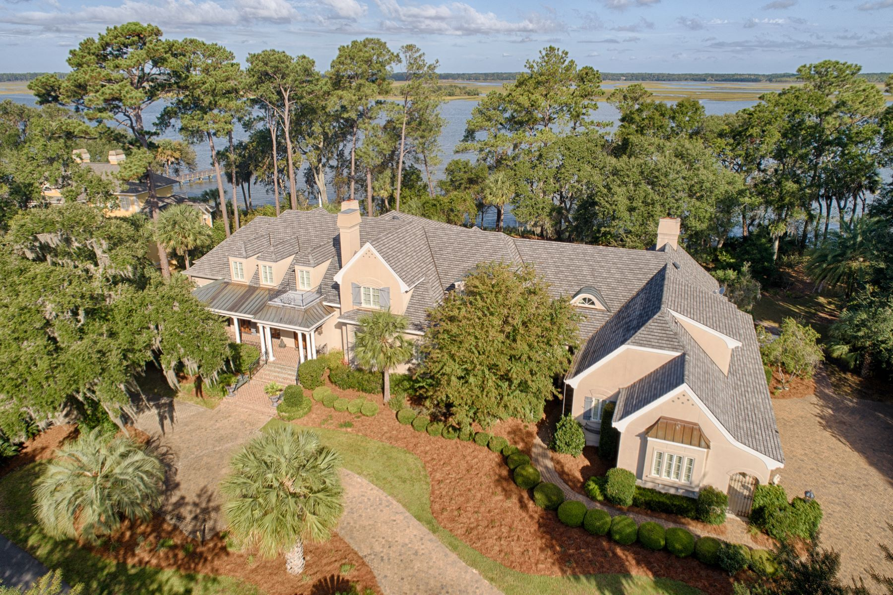 Single Family Homes for Sale at 6 Sparrow Nest Point St. Helena Island, South Carolina 29920 United States