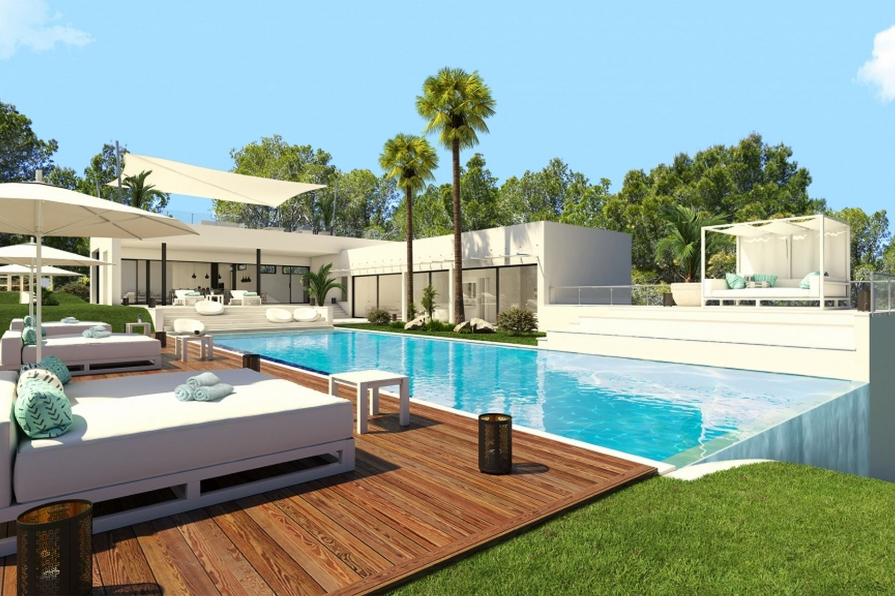 Single Family Home for Sale at Spectacular contemporary house in Son Vida Son Vida, Balearic Islands Spain