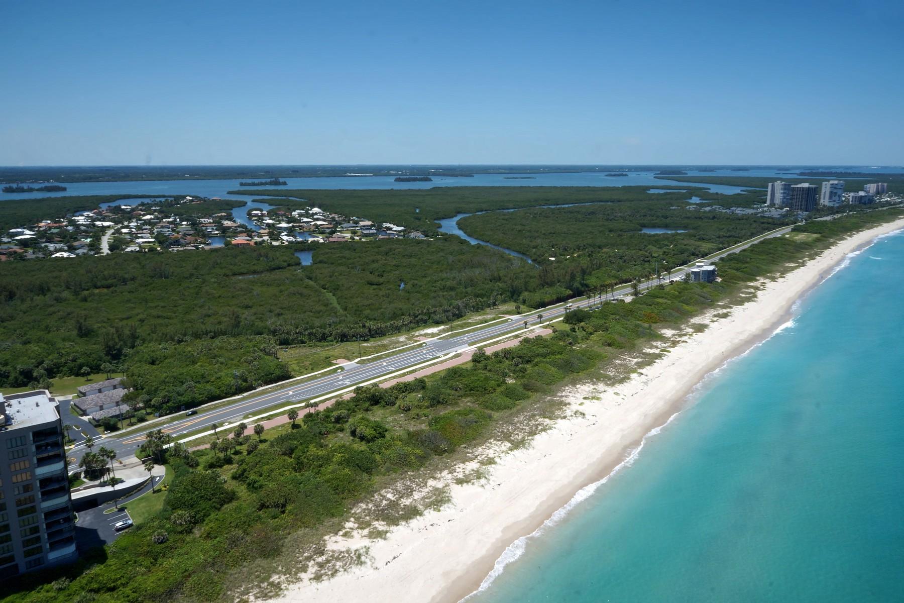Οικόπεδο για την Πώληση στο Beautiful Homesite on North Hutchinson Island 4501 N HIGHWAY A1A Hutchinson Island, Φλοριντα 34949 Ηνωμενεσ Πολιτειεσ