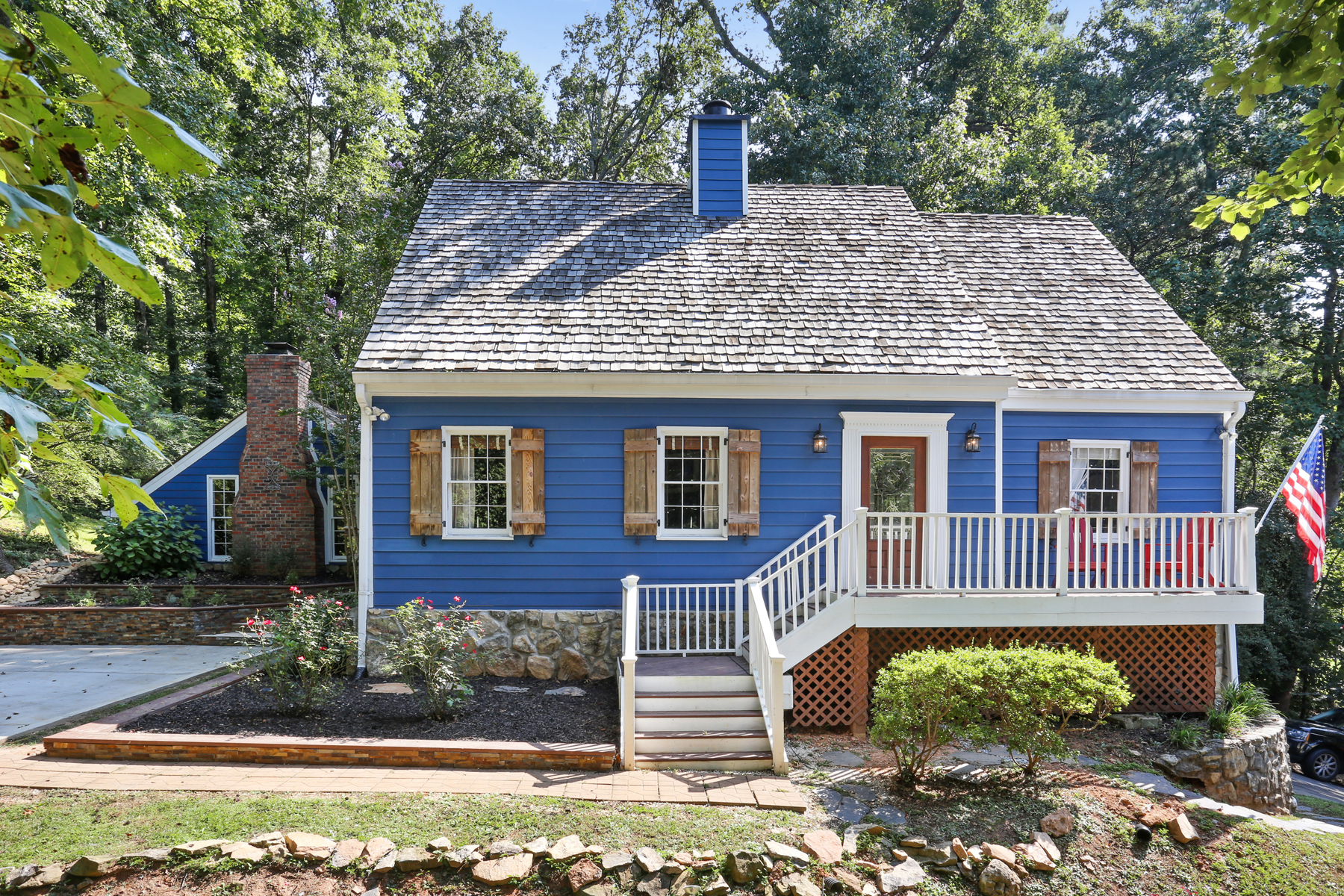 Single Family Home for Sale at Charming Cape Cod In Roswell 2872 McPherson Rd Roswell, Georgia 30075 United States