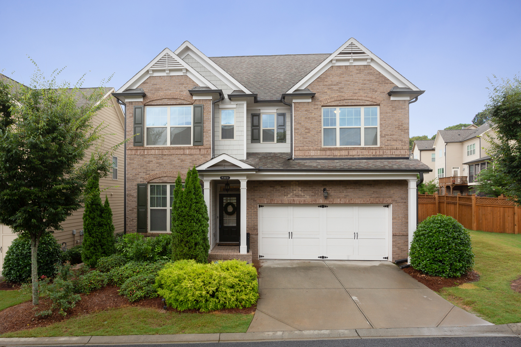 Single Family Home for Sale at Beautiful Sandy Springs Traditional 7800 Highland Bluff NE Sandy Springs, Georgia 30328 United States