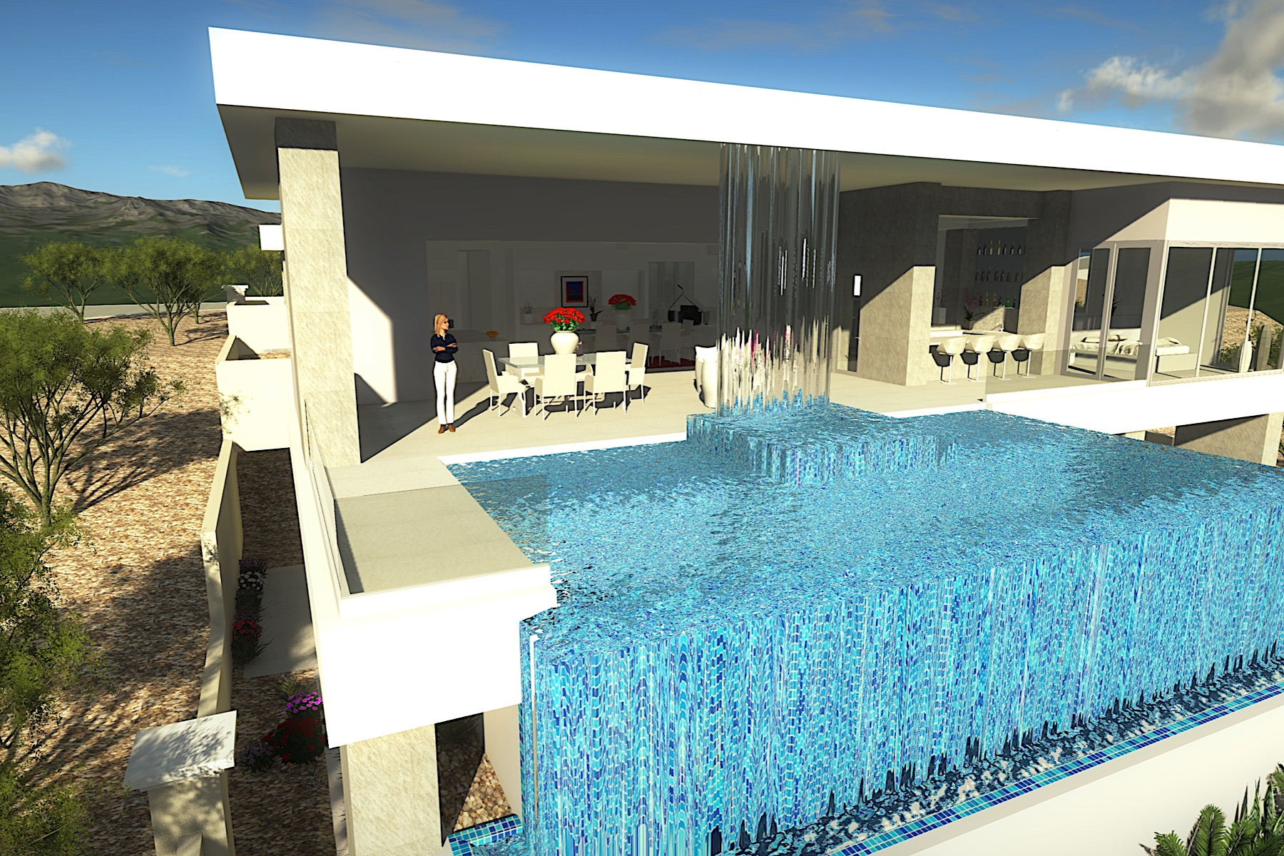 sales property at Hollywood West. New Modern Custom