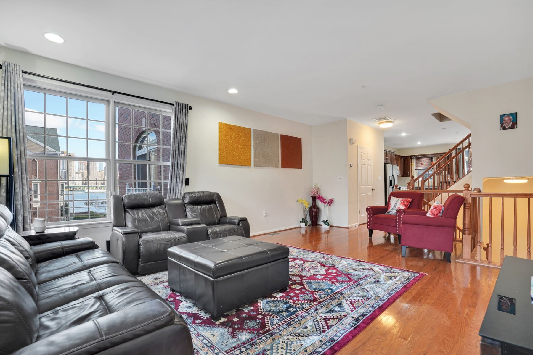 townhouses for Sale at Welcome home to his stunning 3BD/3.5BA in Jacobs & Bulls Ferry 458 Buffalo Court West New York, New Jersey 07093 United States