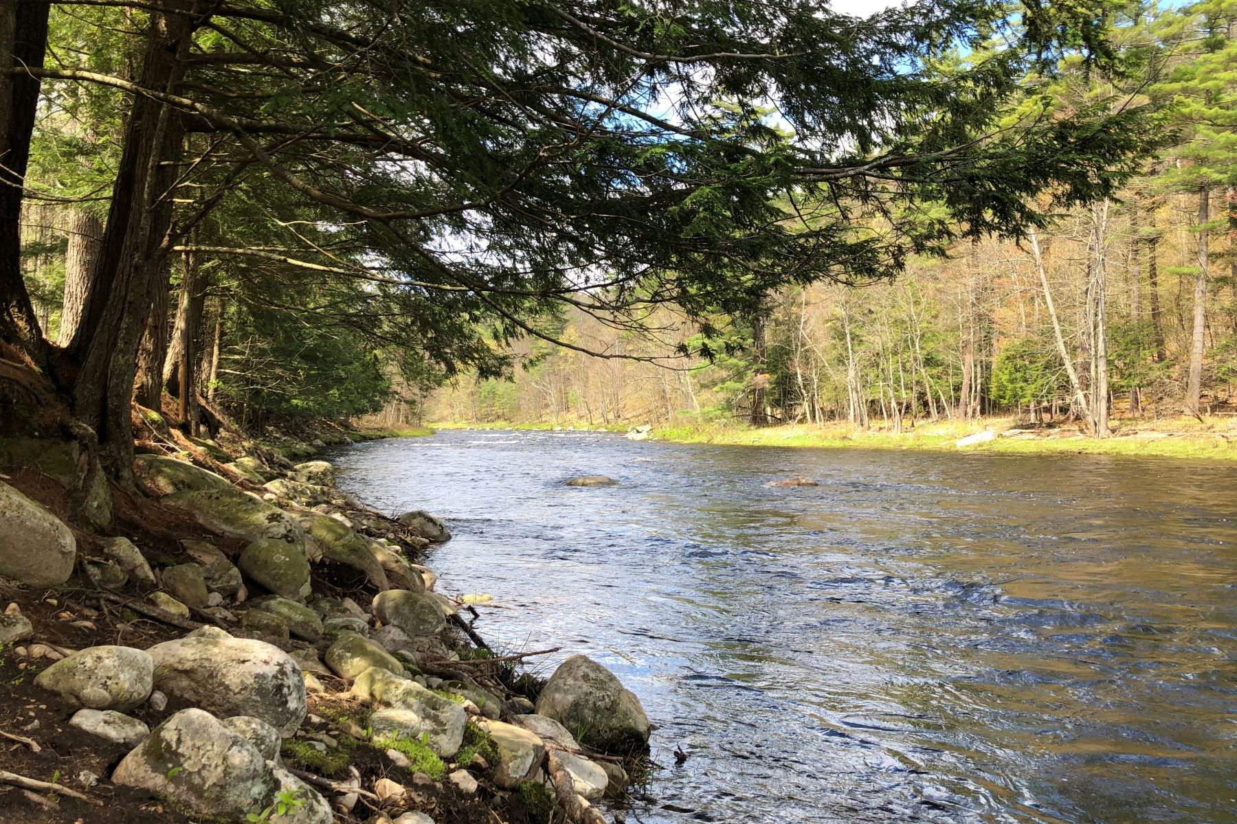 Land for Active at Frontage on the West Branch of Ausable River Lot 21 Cascade Lane Jay, New York 12941 United States