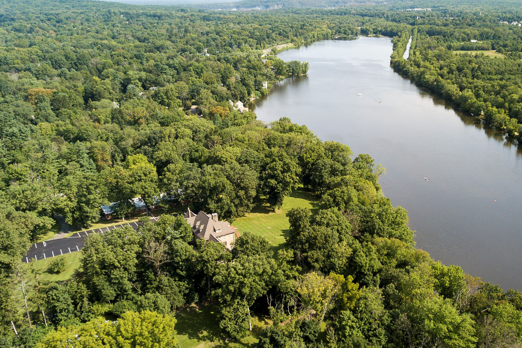 single family homes voor Verkoop op Unprecedented Lake-Front Development Opportunity 601 Prospect Avenue, Princeton, New Jersey 08540 Verenigde Staten