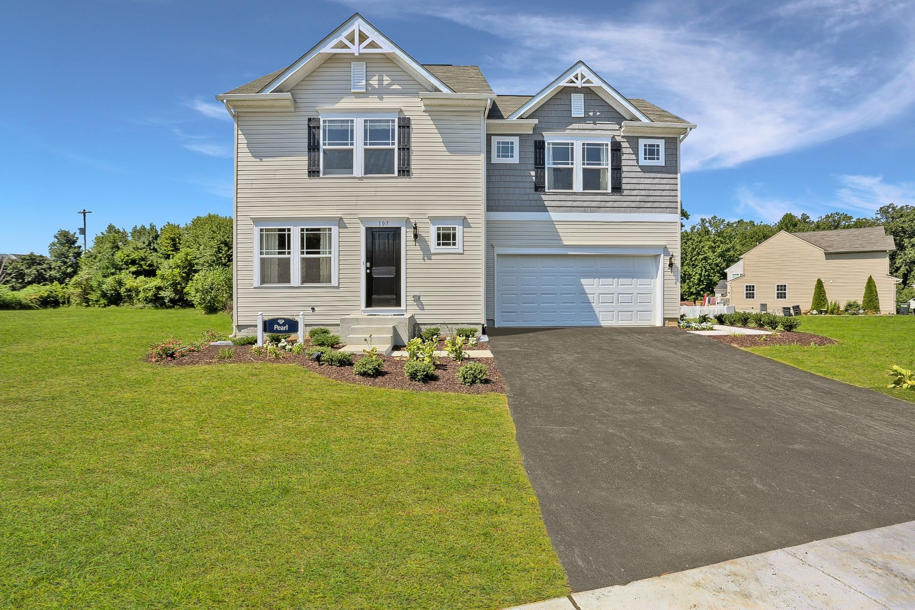 Single Family Homes のために 売買 アット Captain's Cove Colonial-The Pearl Lot 1110 Amidship Drive, Greenbackville, バージニア 23356 アメリカ