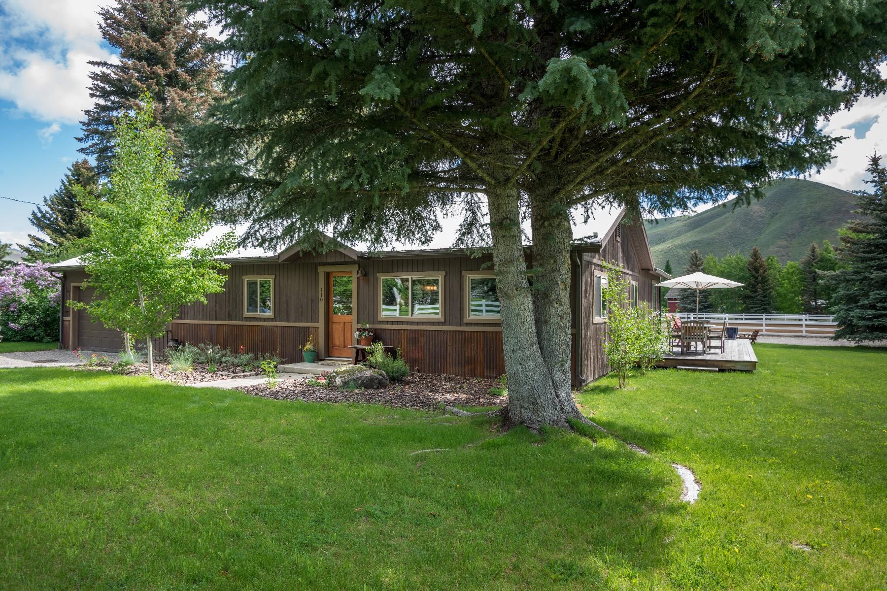 Farm / Ranch / Plantation for Active at Woodgrove Farm 106 & 110 McKenzie Lane Hailey, Idaho 83333 United States