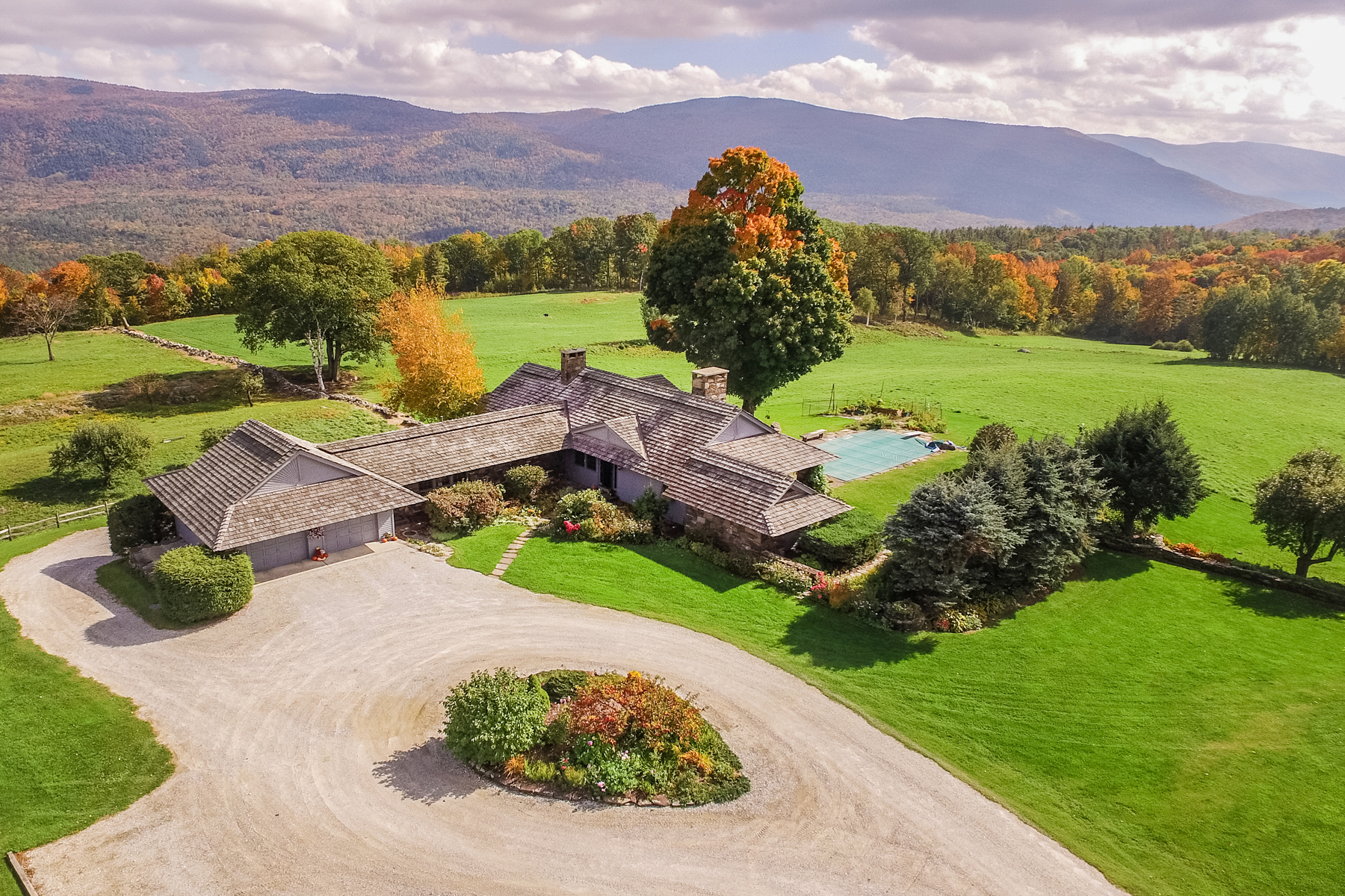 single family homes for Sale at Custom Built with Panoramic Views 1245 West Hill Rd Wallingford, Vermont 05773 United States