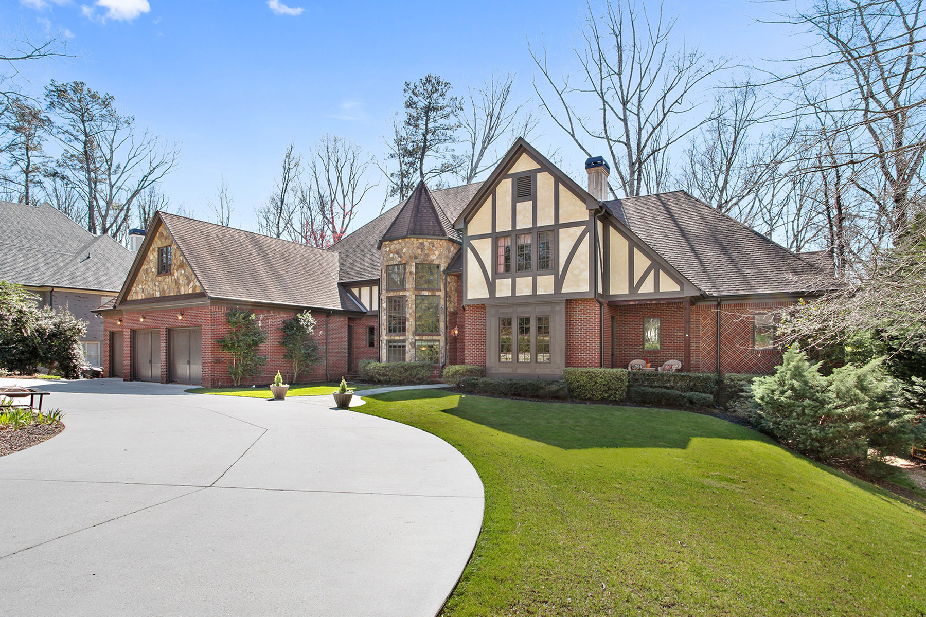 Single Family Home for Sale at Stately Brookhaven Tudor 1419 Hearst Drive Brookhaven, Georgia 30319 United States