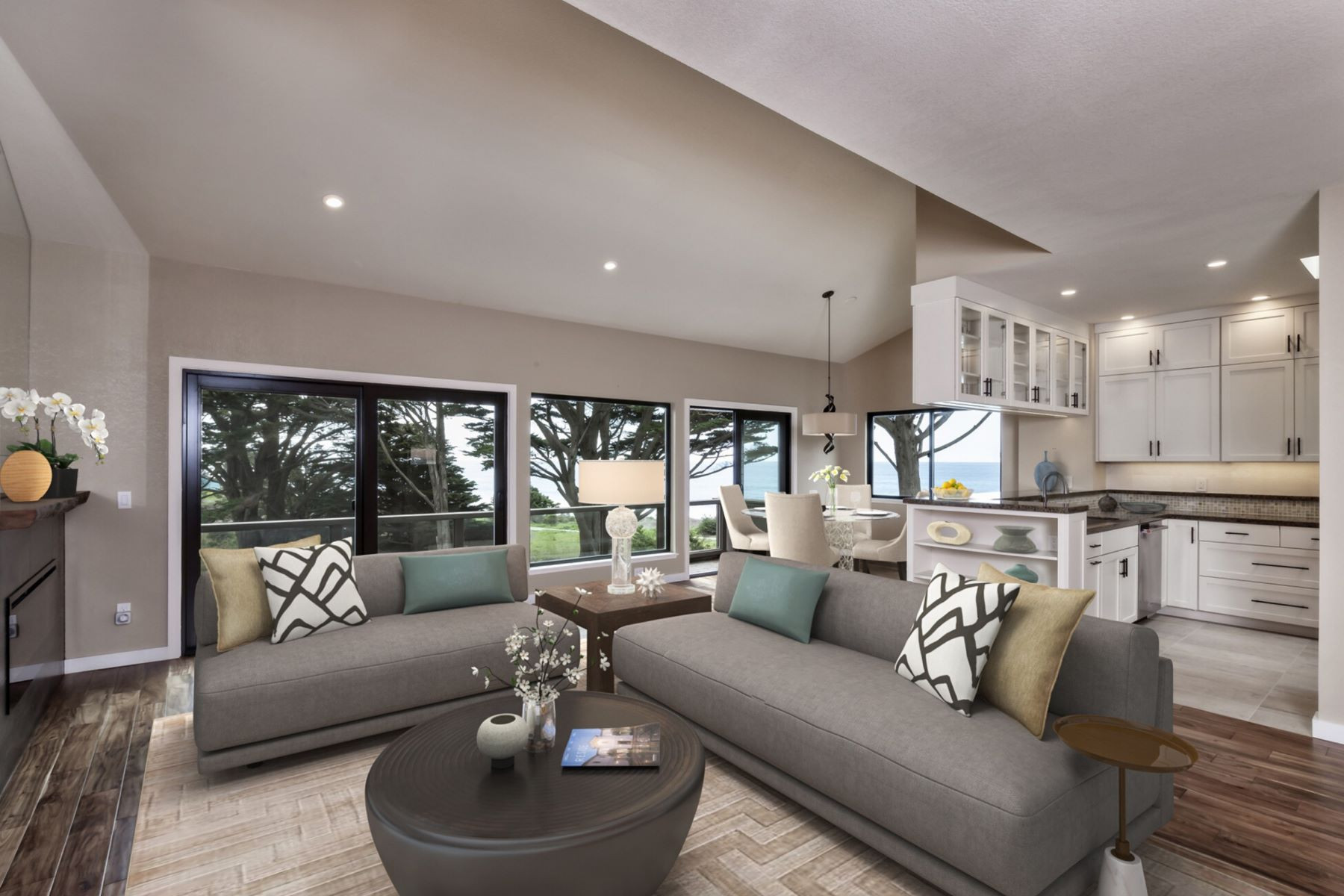 Single Family Homes for Active at Coastal Views Townhouse 26 Mirada Road Half Moon Bay, California 94019 United States
