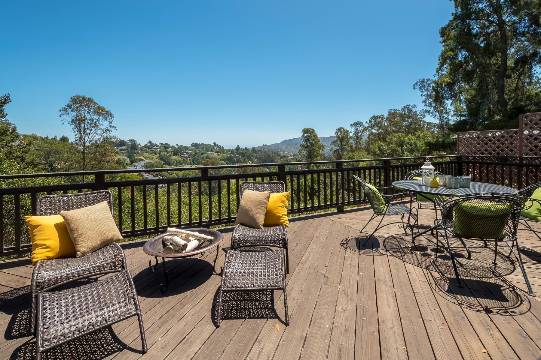Single Family Homes for Sale at Contemporary Mill Valley View Home 1207 West California Avenue, Mill Valley, California 94941 United States