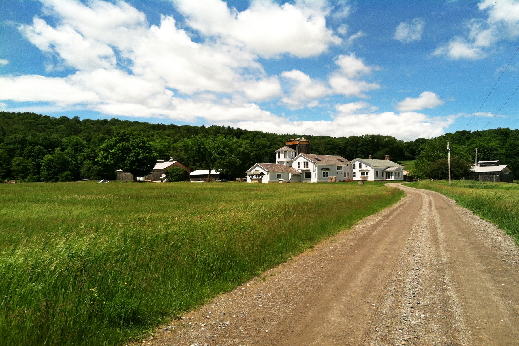 single family homes for Sale at Vermont Country Estate with Acreage 957 Pleasant Valley Rd Benson, Vermont 80253 United States