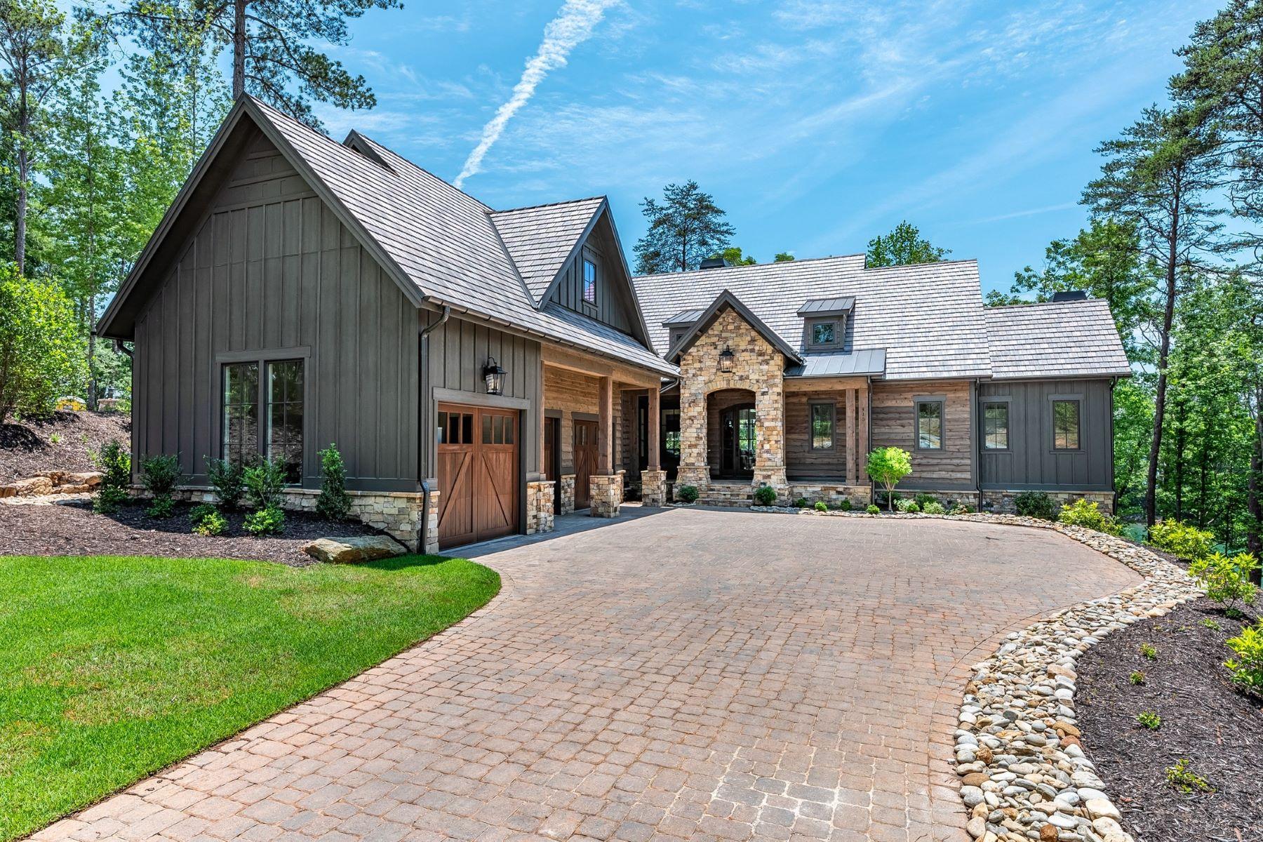 Single Family Homes por un Venta en Lakeside Home with Views 415 Peninsula Ridge, Sunset, Carolina del Sur 29685 Estados Unidos