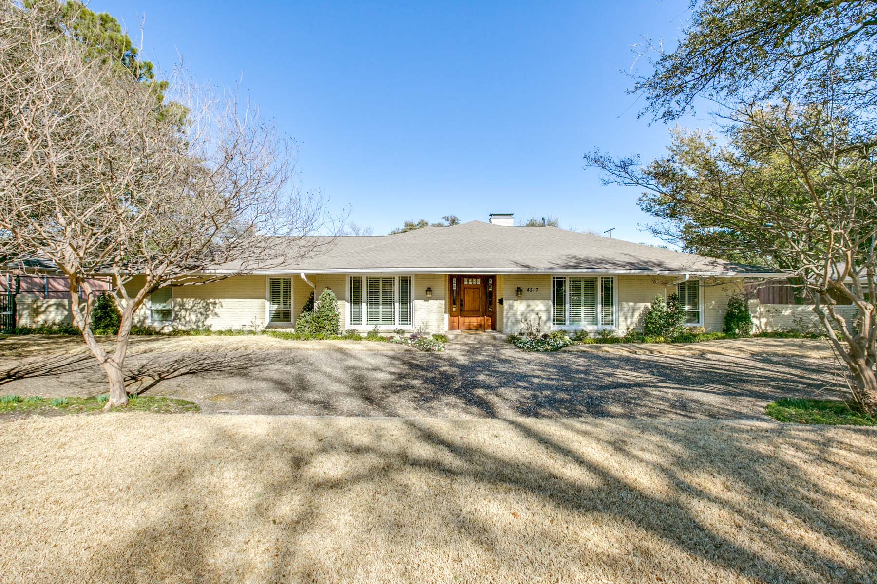 Single Family Home for Sale at Hockaday Transitional 4517 Shady Hill Drive, Dallas, Texas, 75229 United States