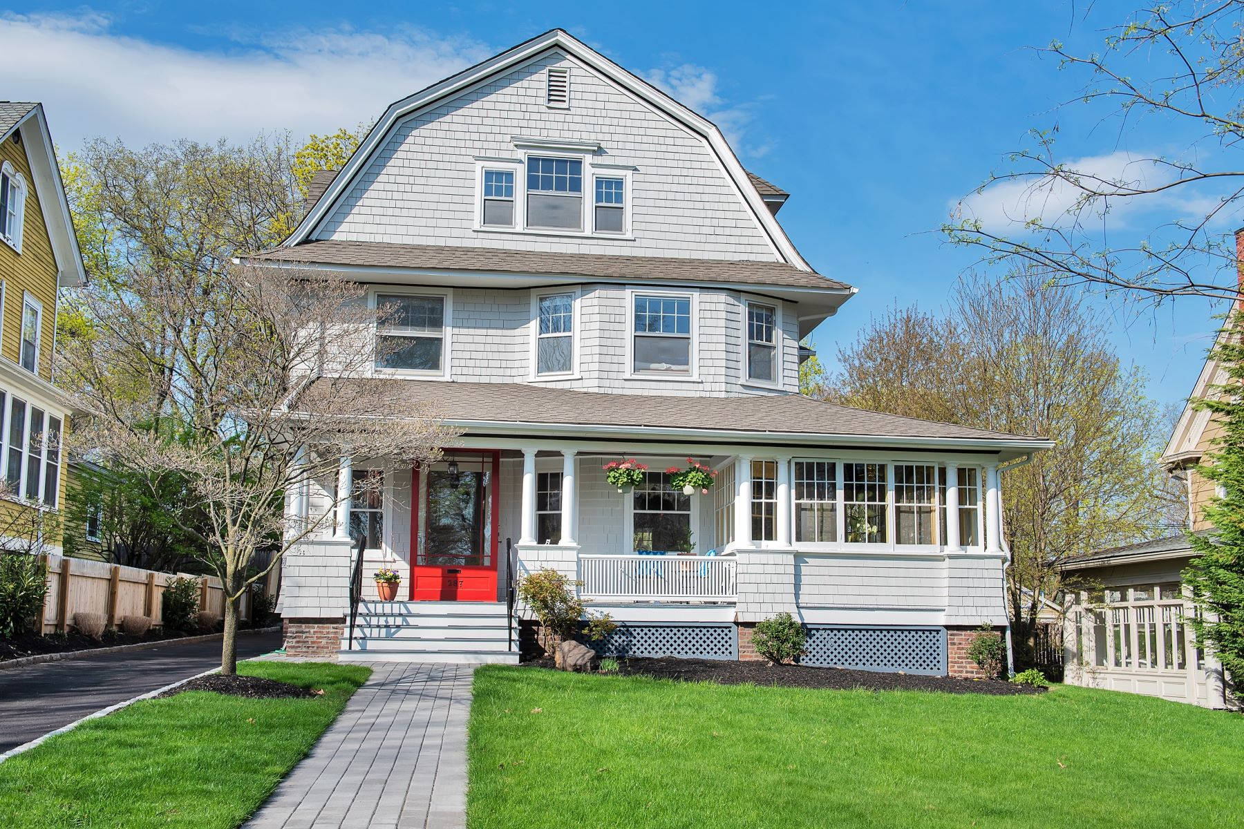 Single Family Home for Sale at Victorian in heart of Glen Ridge 287 Washington Street, Glen Ridge, New Jersey 07028 United States