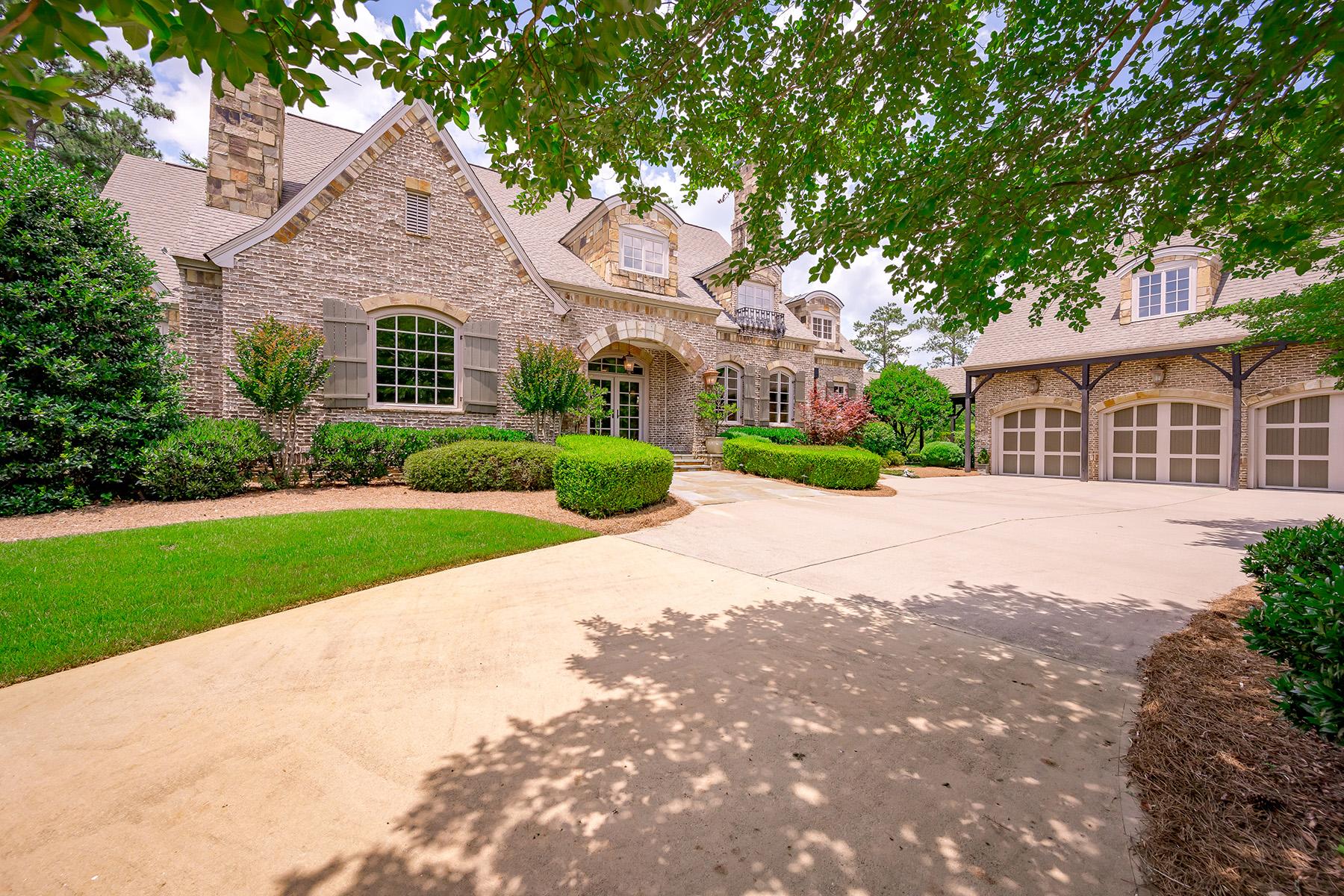 Single Family Homes per Vendita alle ore European Classic Masterpiece 4395 Oglethorpe Loop Acworth, Georgia 30101 Stati Uniti