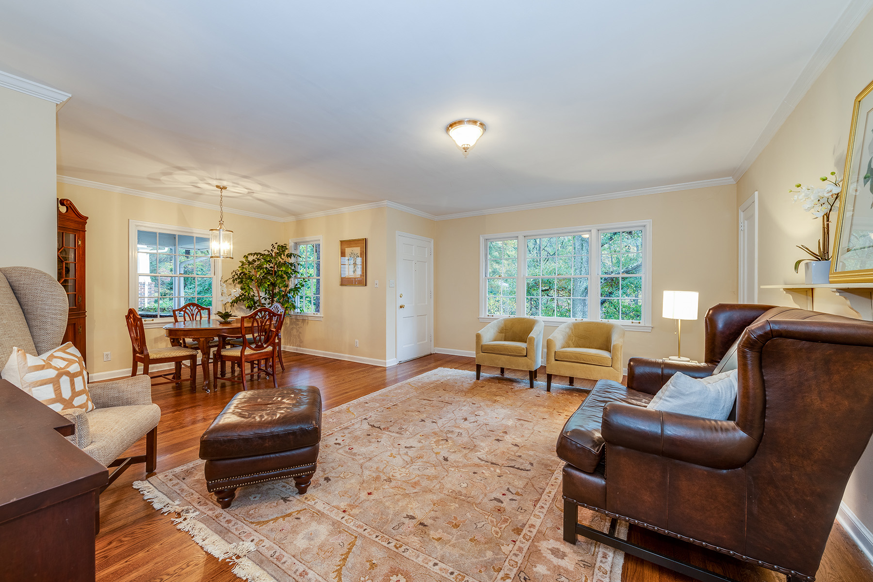 Single Family Home for Sale at Bright One-Level Ranch is Private Oasis in City of Decatur 513 Westchester Drive Decatur, Georgia 30030 United States